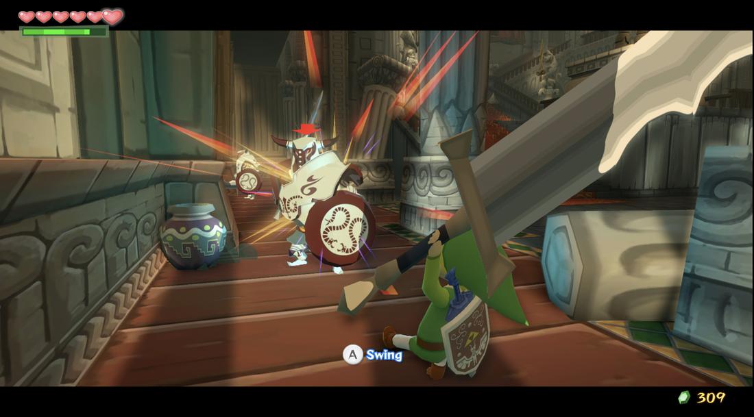 The Legend of Zelda: The Wind Waker HD remake includes Hero Mode