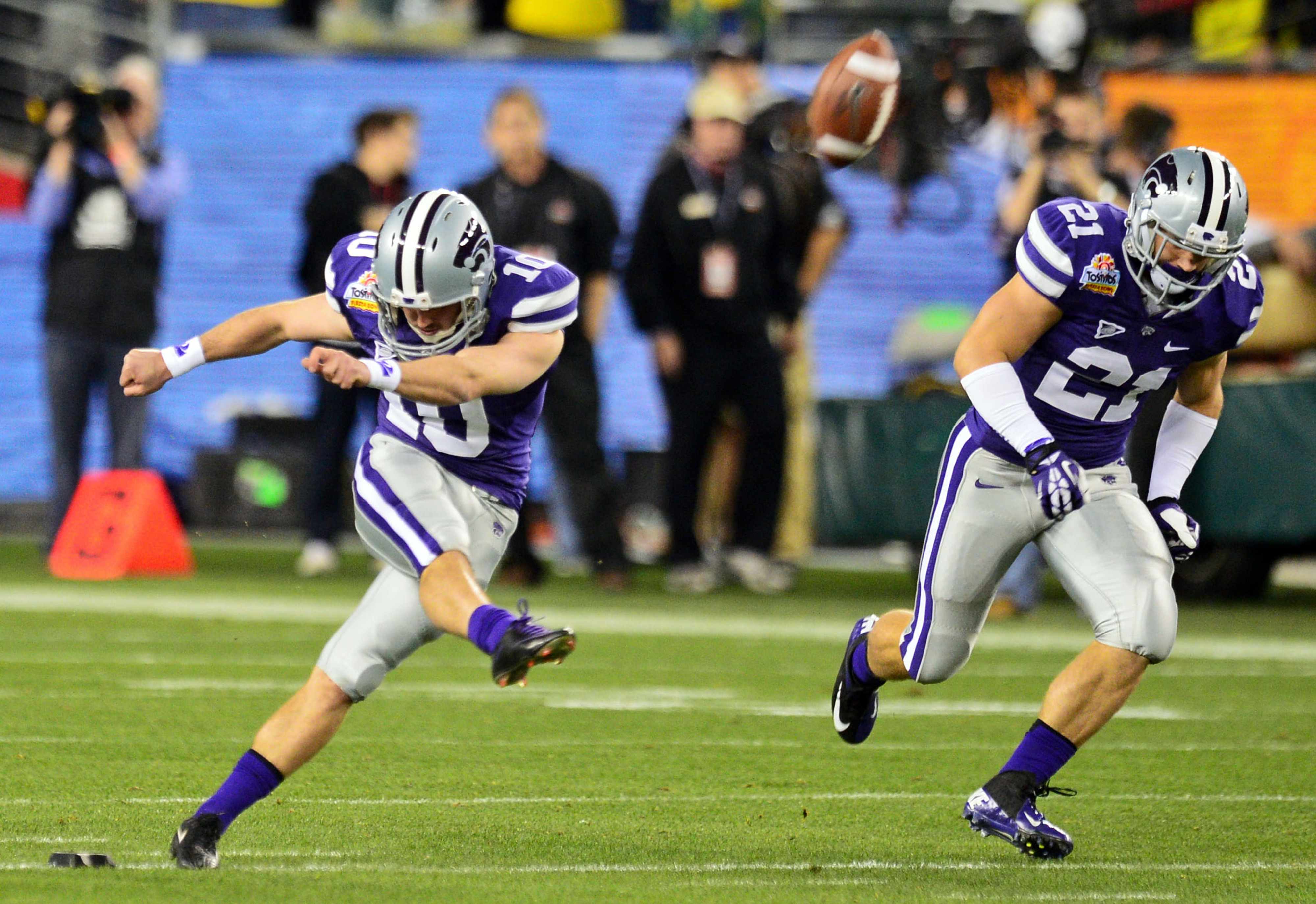 Anthony Cantele was underrated as a kickoff specialist. Will Dillon Wilson be the man to step up and replace him?