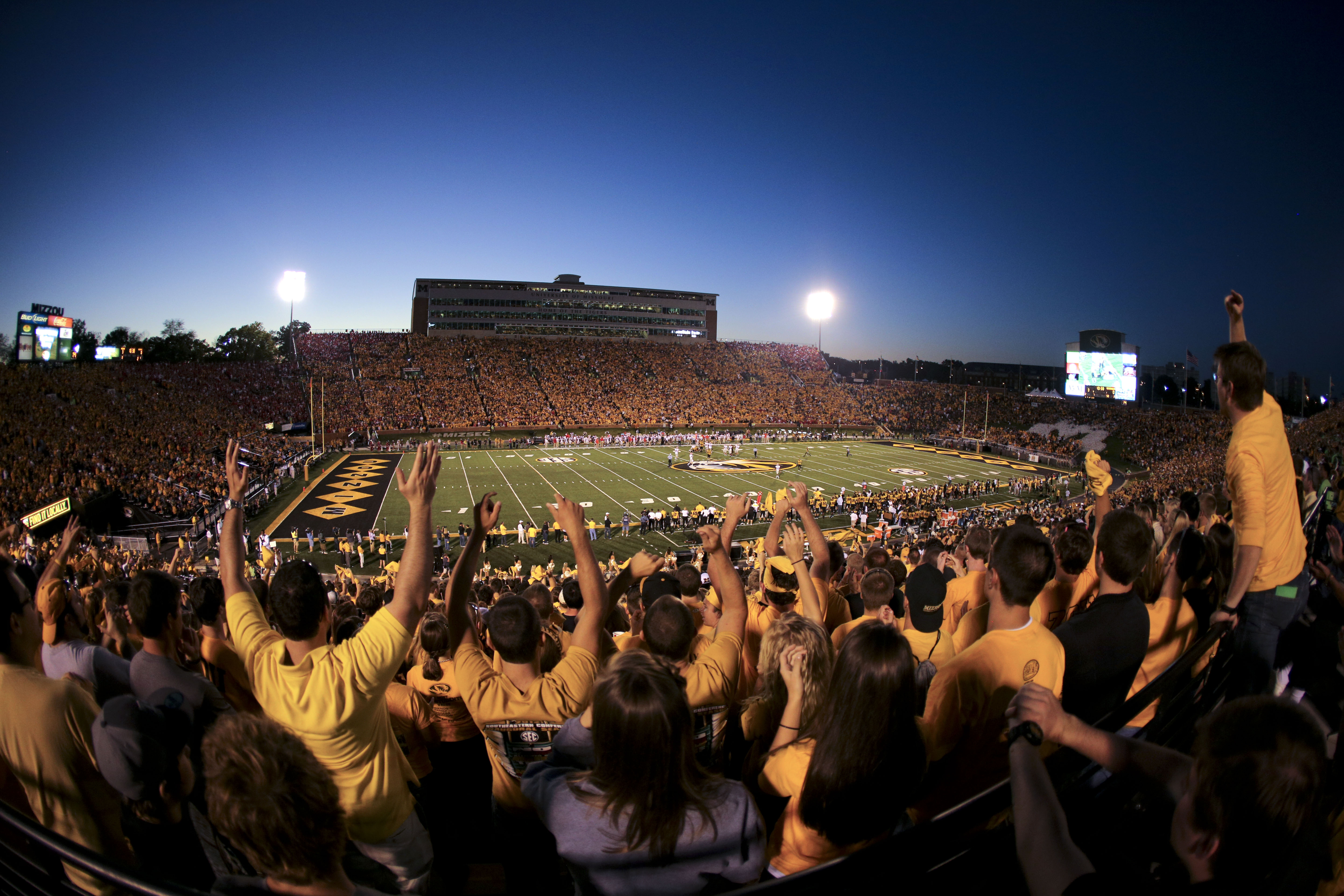 College Football SBNationcom - 12 american college sports venues to see before you die