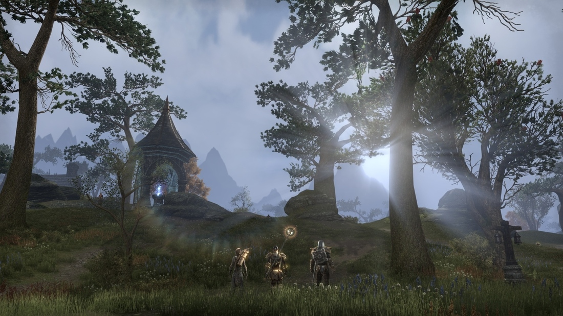Elder Scrolls Online can be played entirely without magic