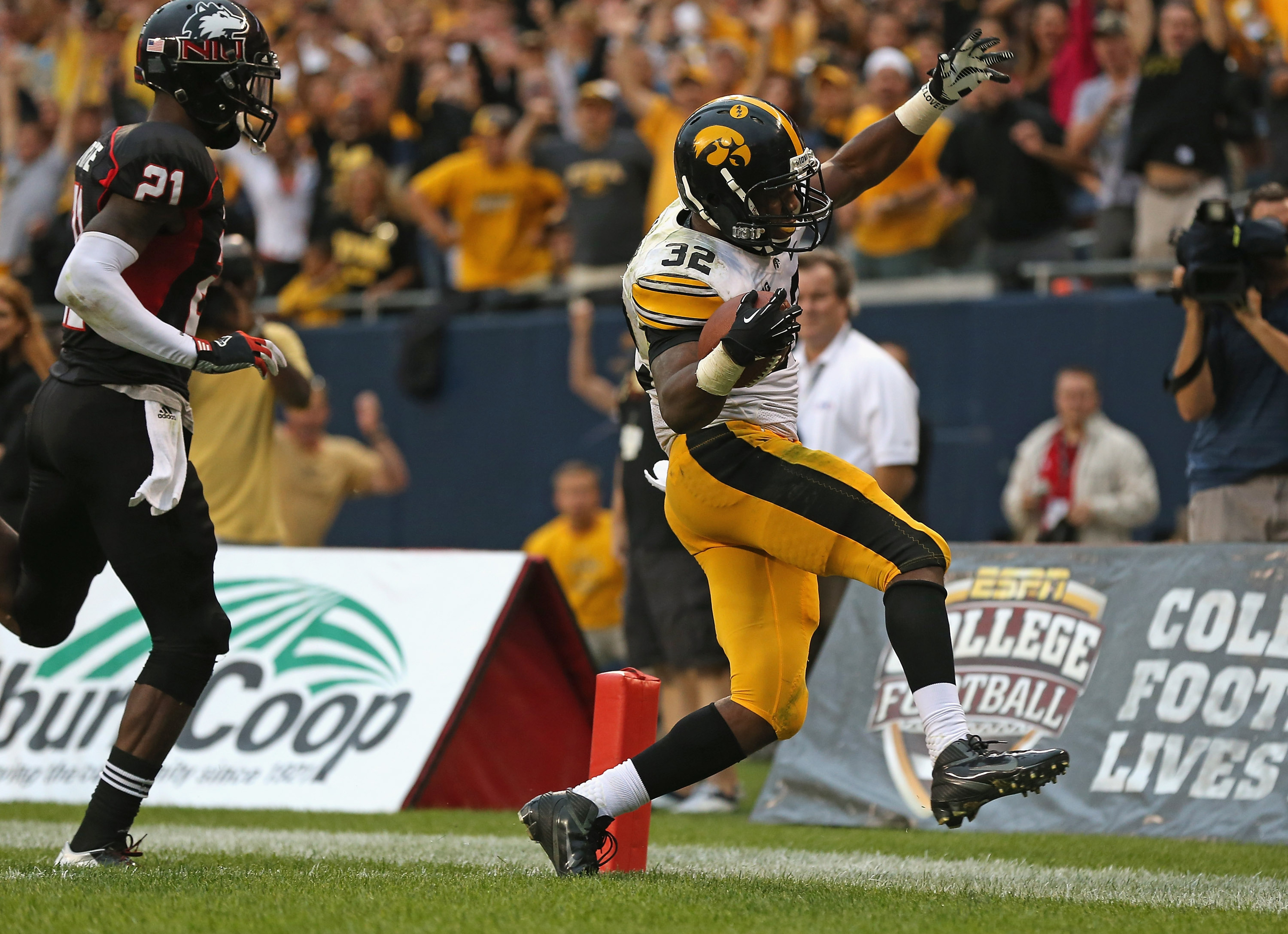 This was good.  Not much else in Iowa's 2012 season opener was.