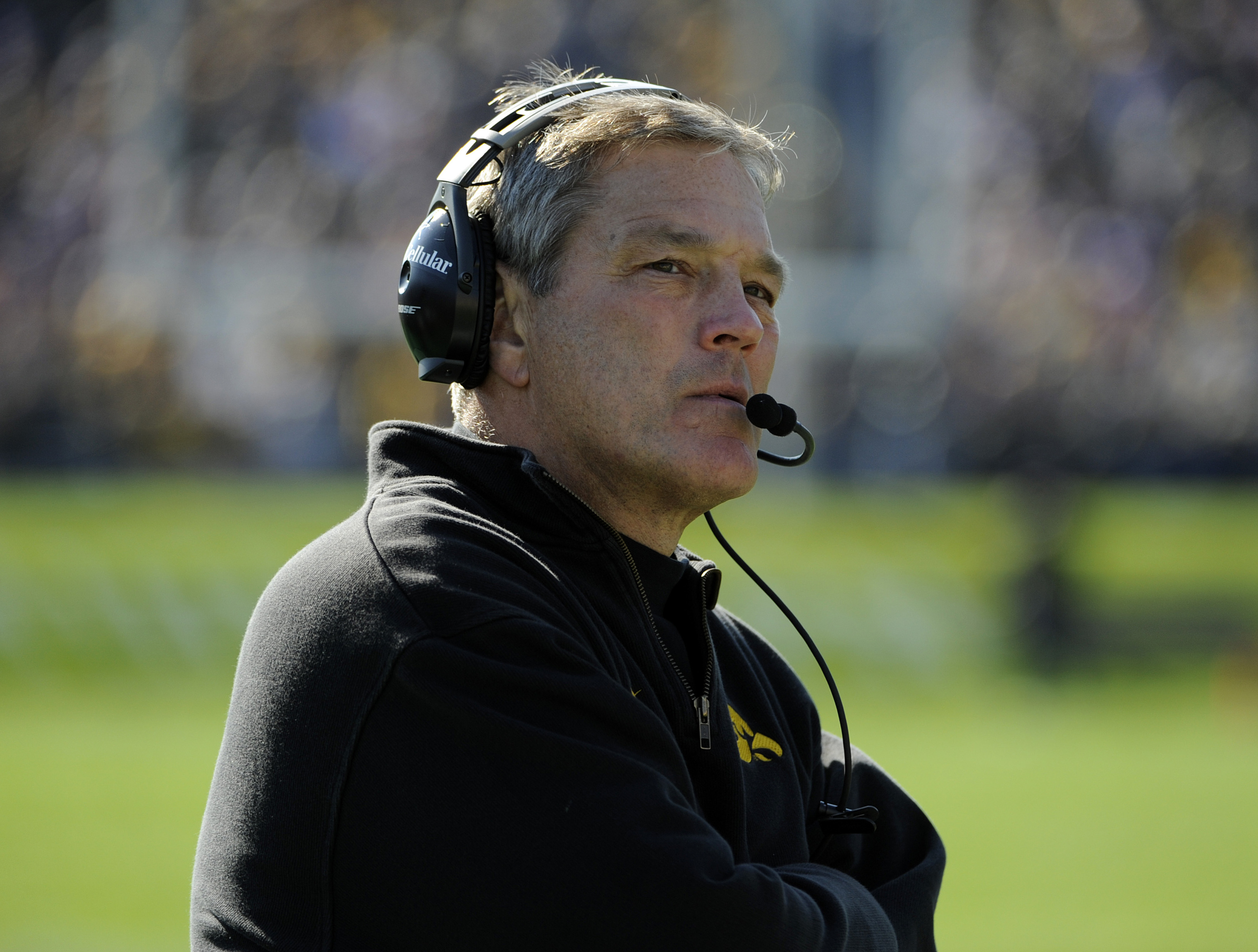 Iowa football and Kirk Ferentz are at a crossroads.