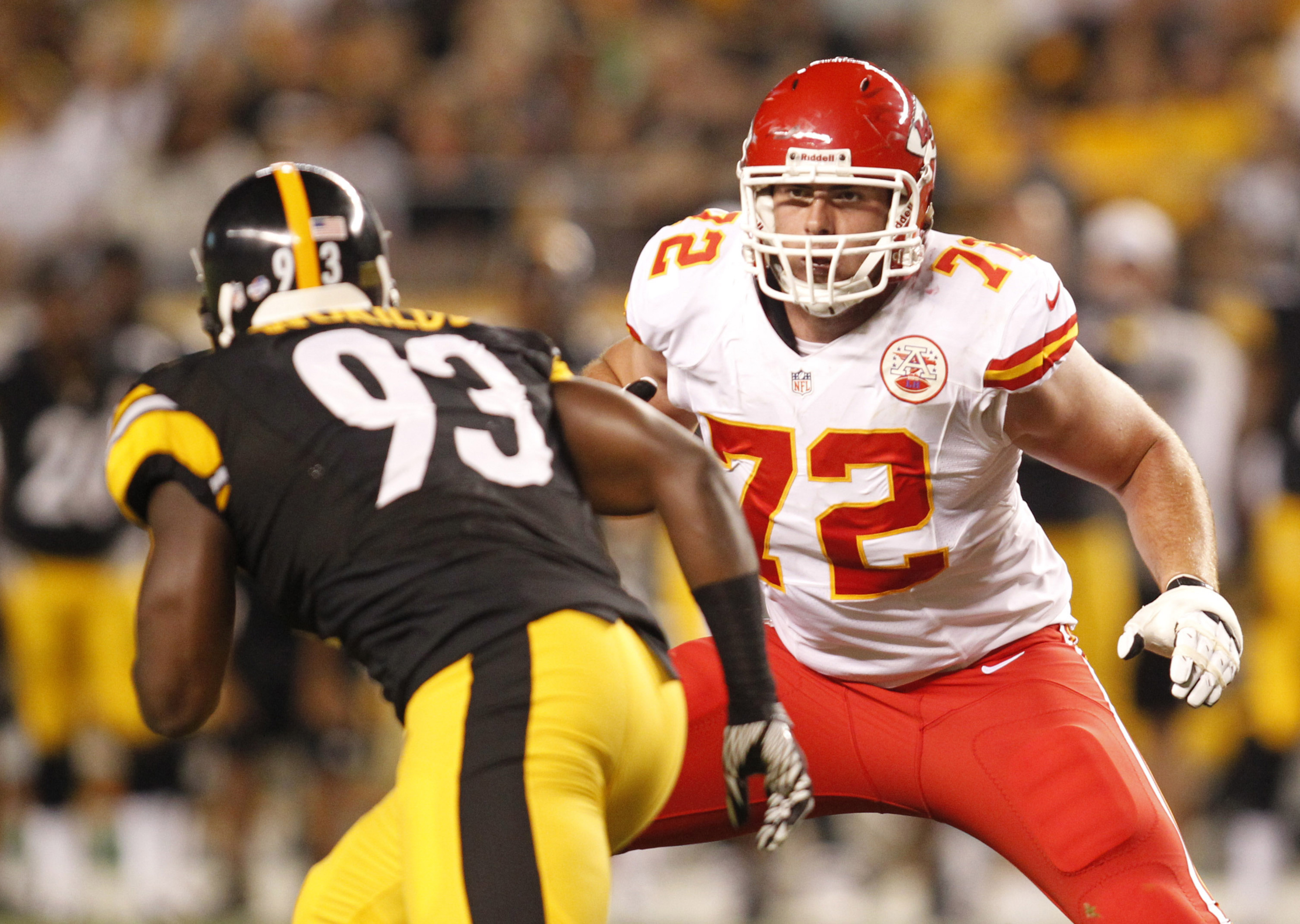Chiefs tackle Eric Fisher