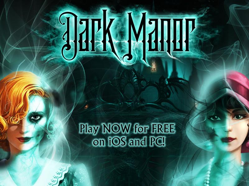Hidden object game Dark Manor arrives as free-to-play