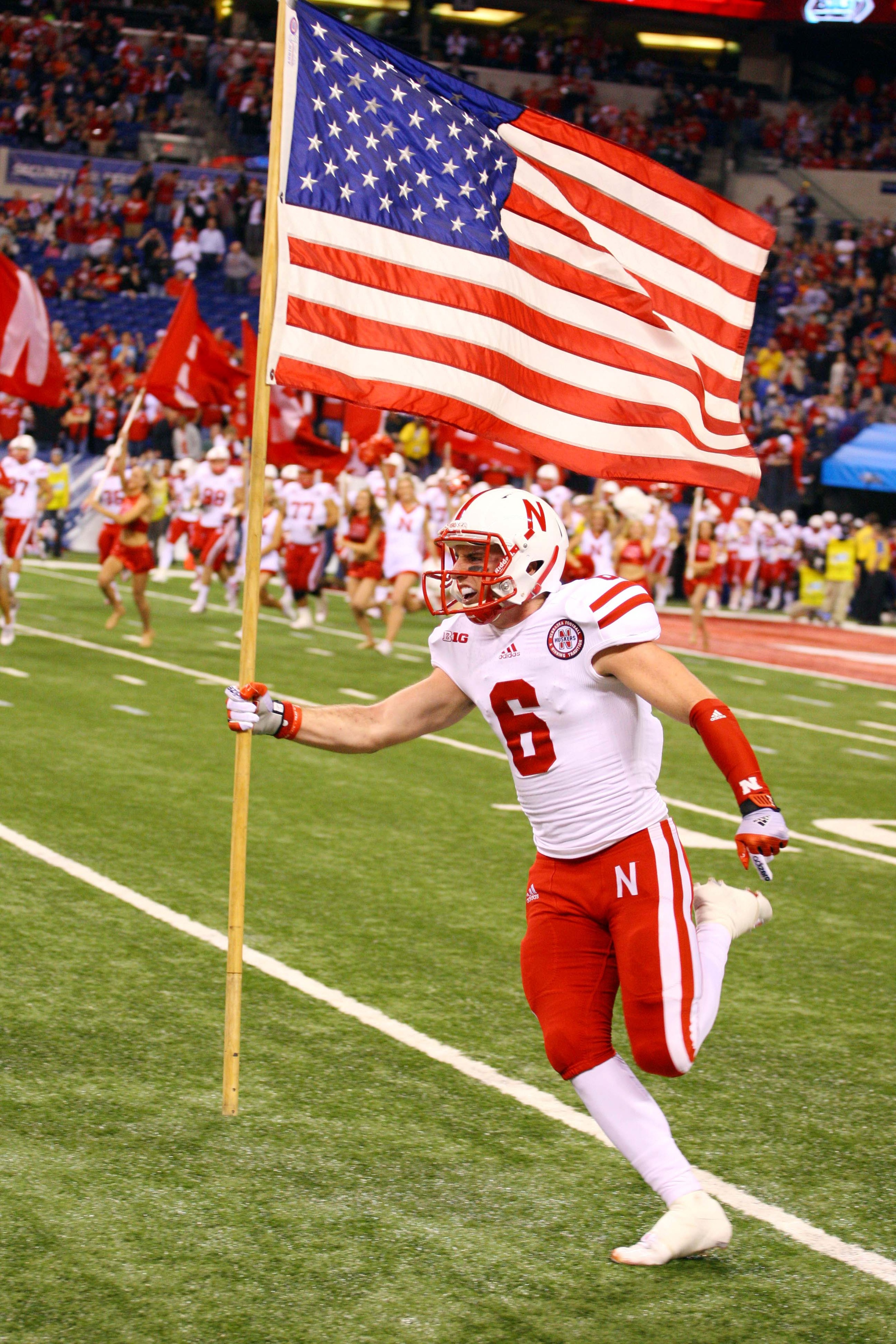 Huskers. America. College Football. What else do you need?!?