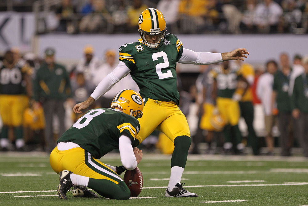 Mason Crosby contract: Packers K restructures deal, per report