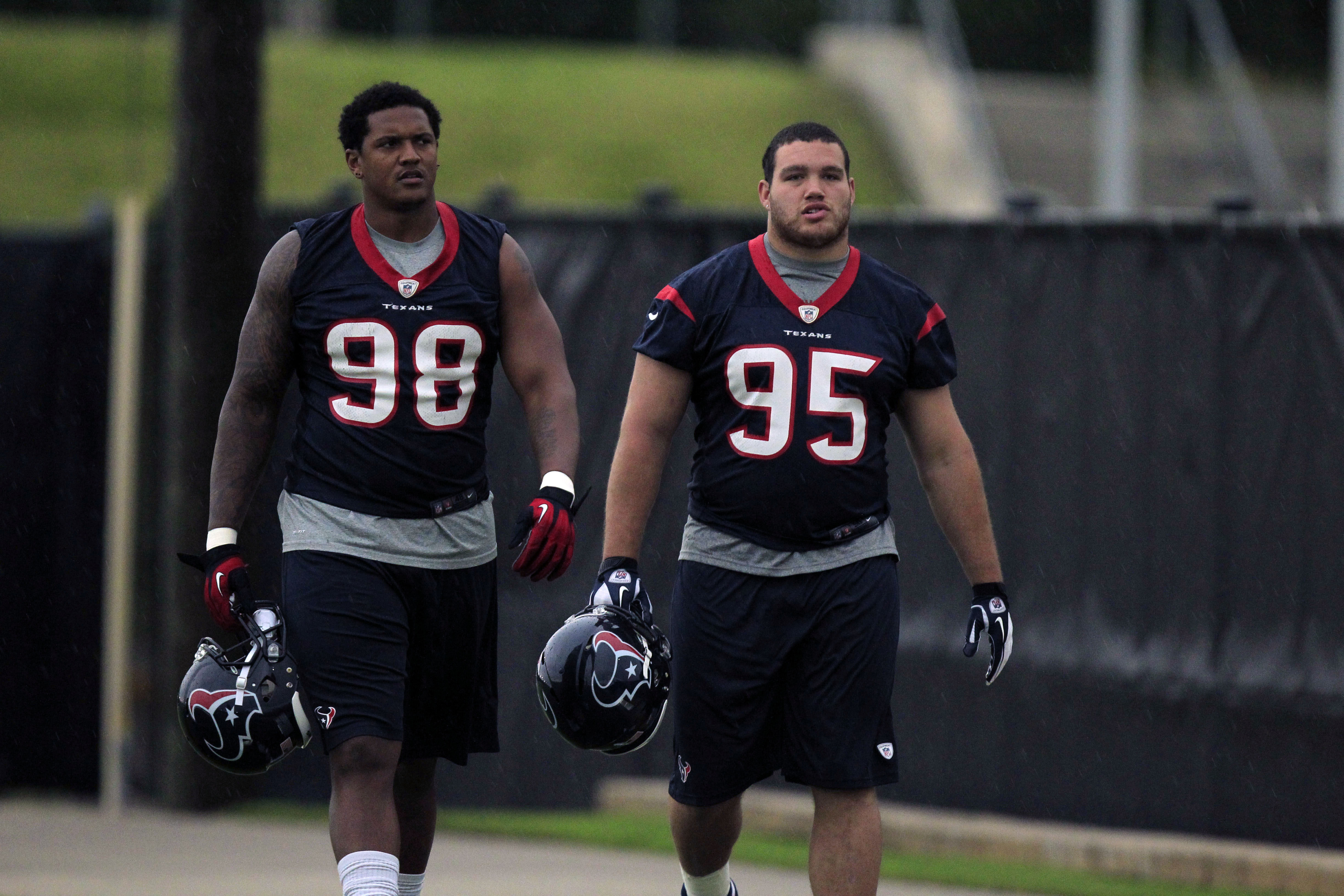 Will Browner be joining Chris Jones on the way out of Reliant Park today?