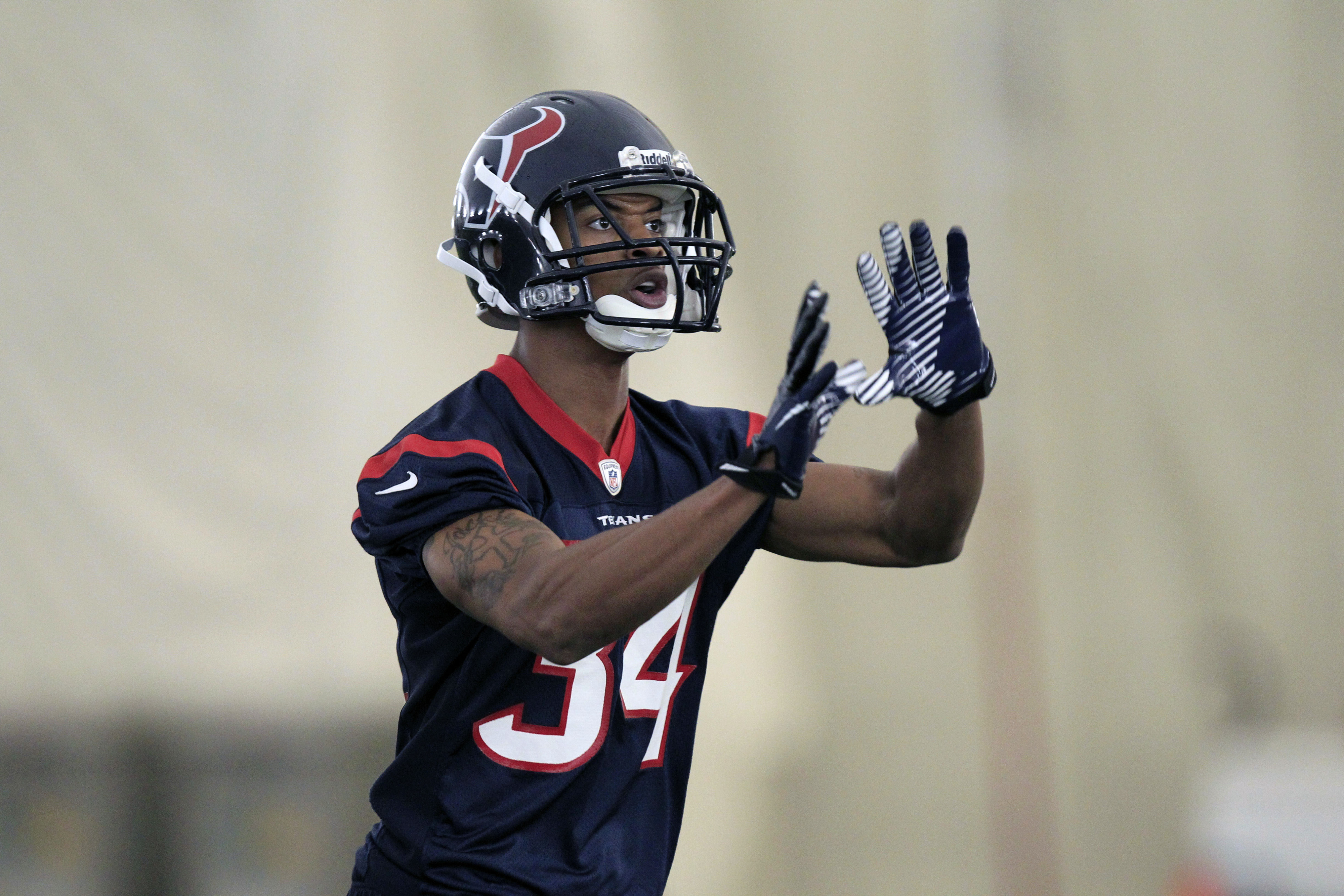 If D.J. Swearinger can be believed, this man just made the Texans' 53.