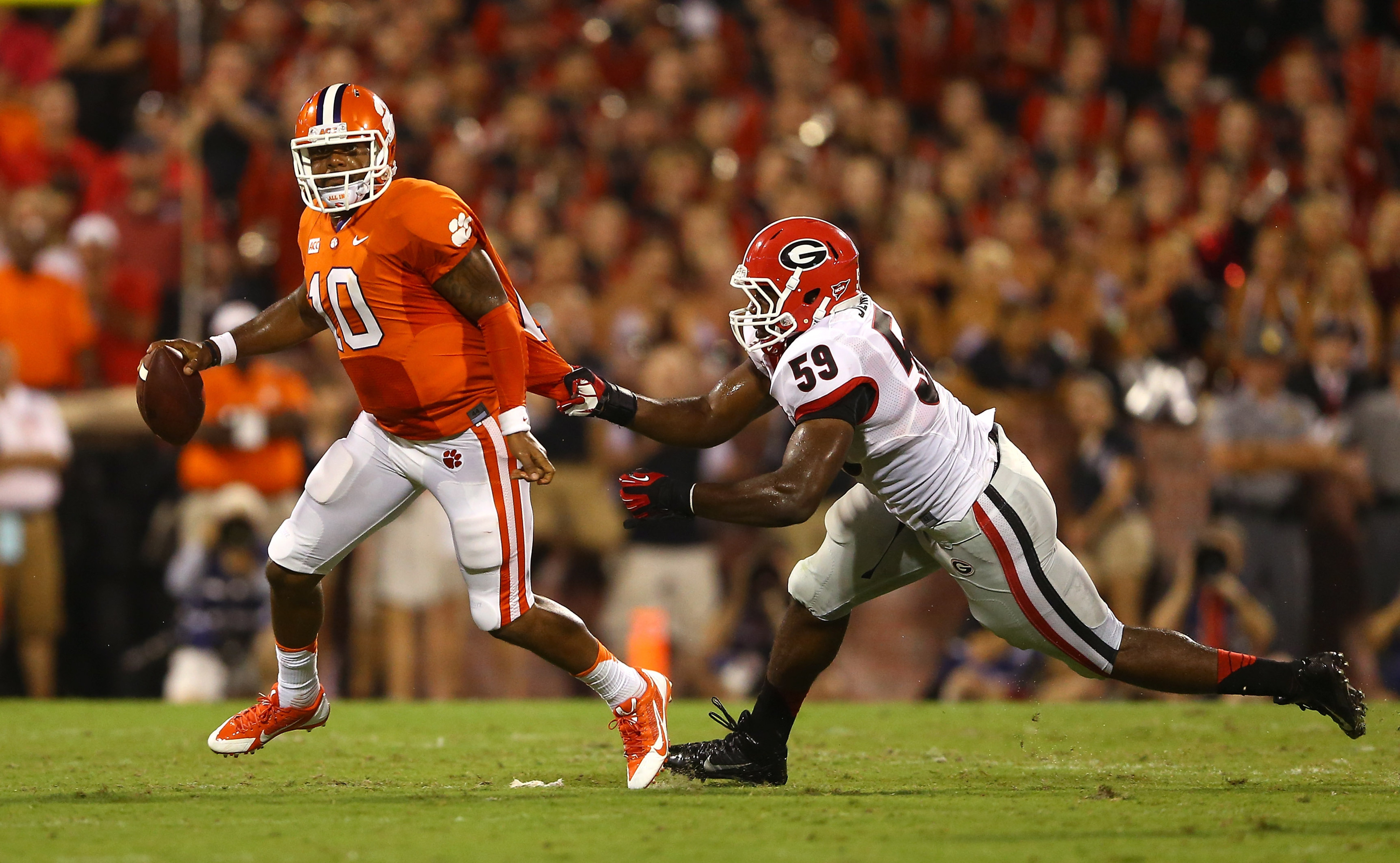 Georgia vs. Clemson 2013 final score: Tigers hold on for huge home win