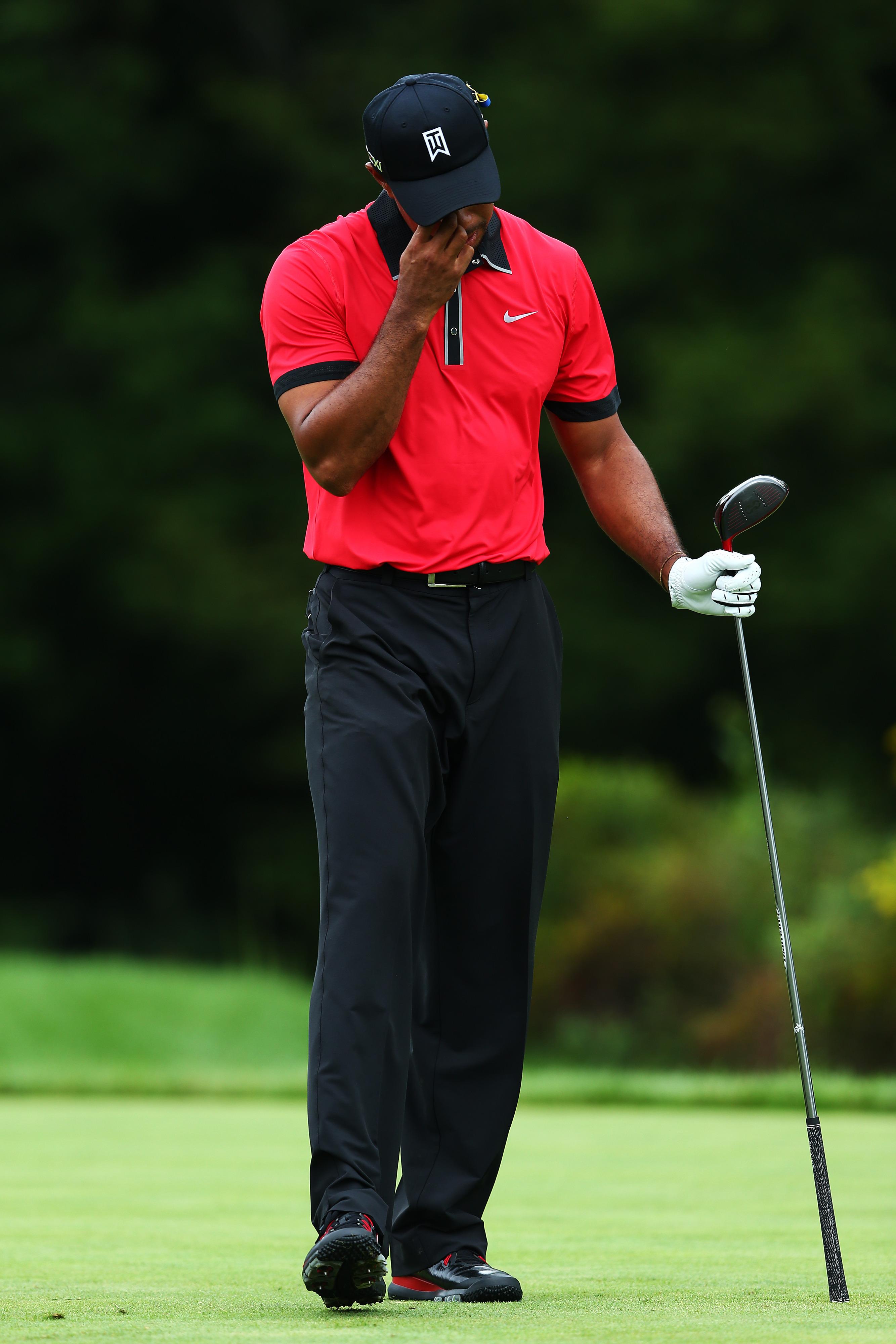 Tiger Woods slumps to No. 2 in 2013 FedExCup standings after deflating Deutsche Bank Championship