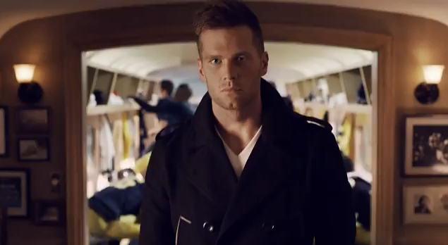 Tom Brady in his new UGG commercial