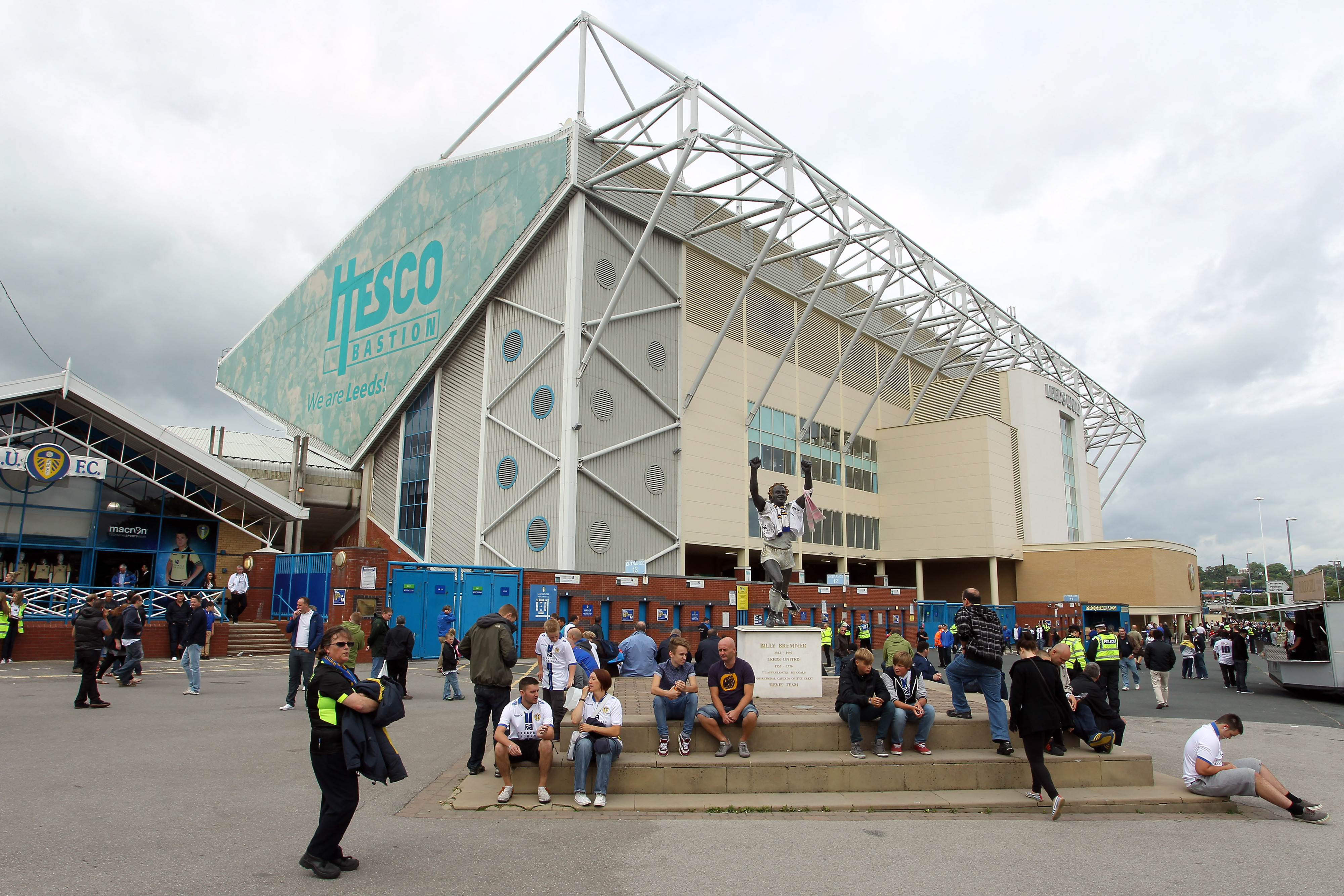 Despite defeat and a small crowd, Elland Road is a happy place to be right now.