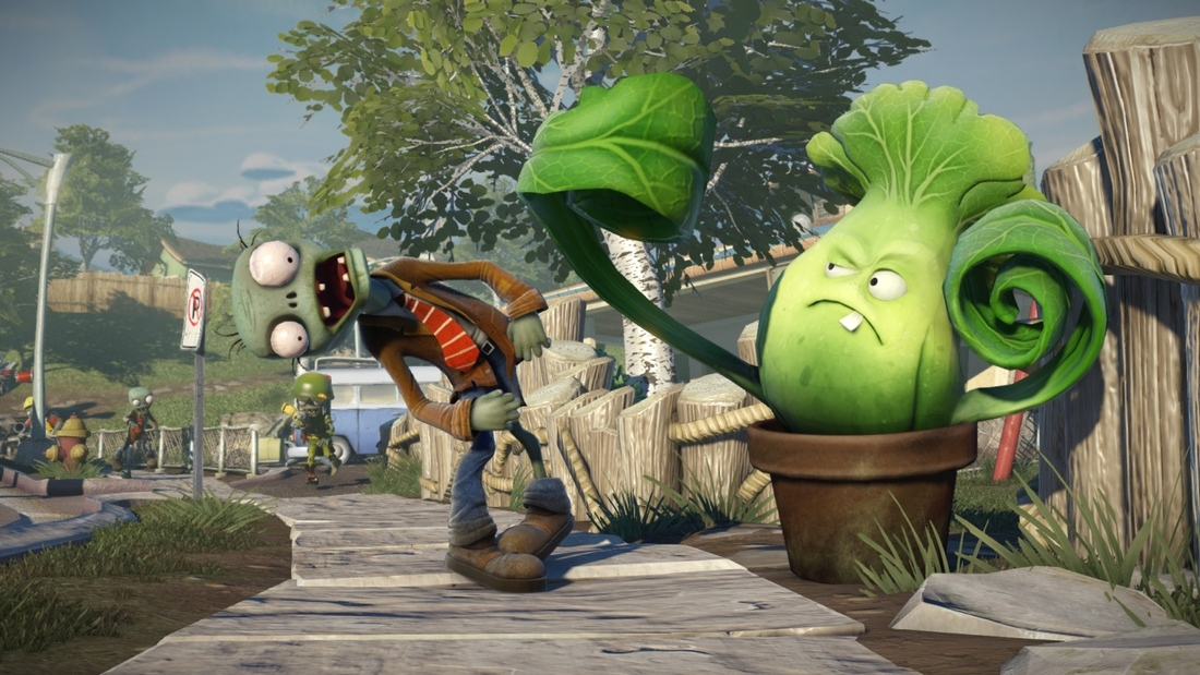 Plants vs. Zombies: Garden Warfare is multiplayer-only