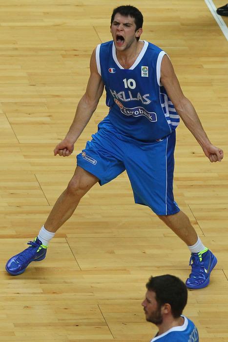 Kostas Papanikolaou is the bright future of a strong Greek team.