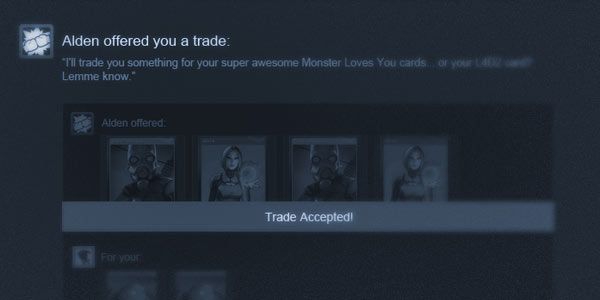 Valve rolls out Steam Trading feature