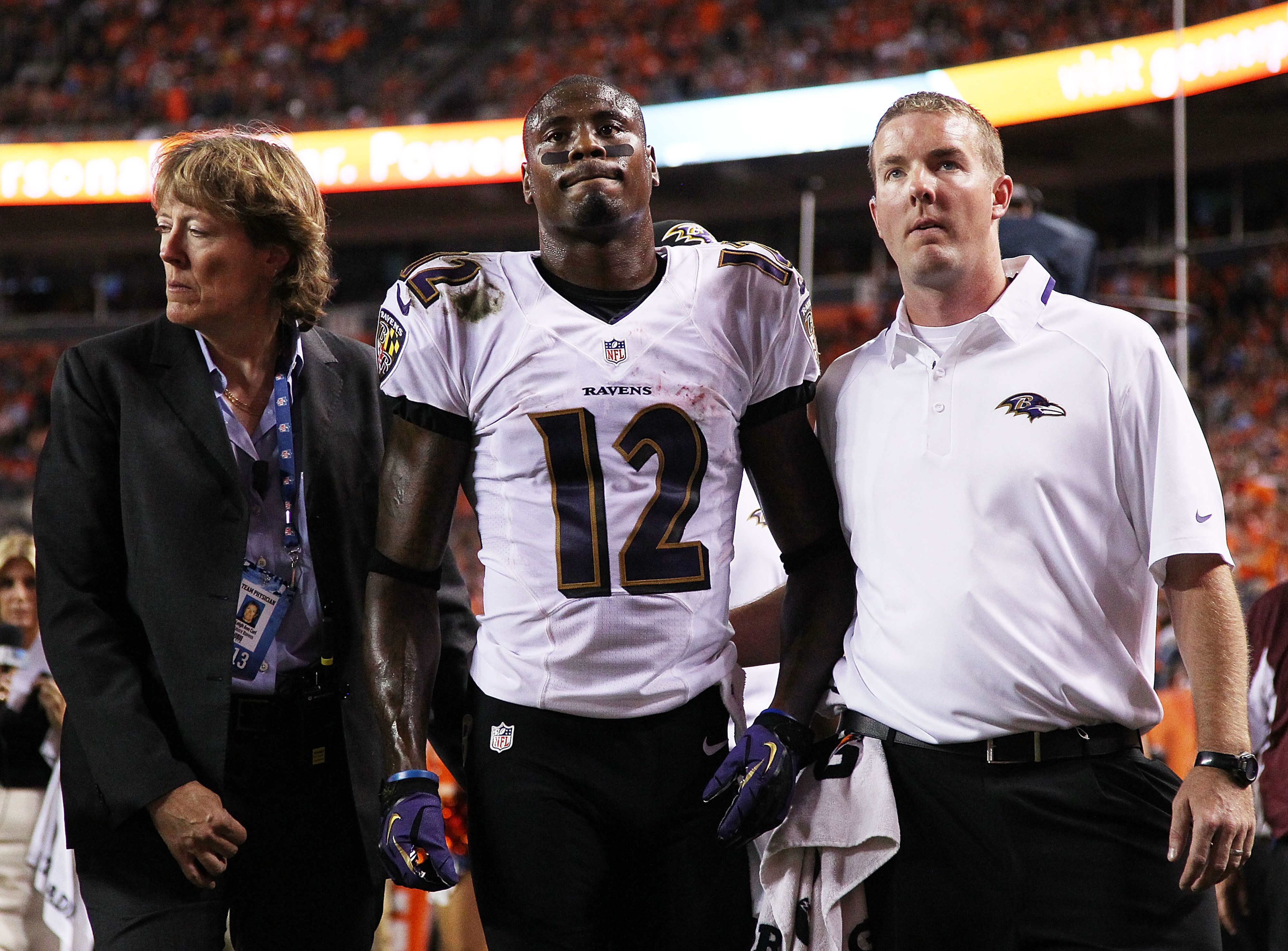 Jacoby Jones injury: Ravens WR out 4-6 weeks with MCL sprain, per report