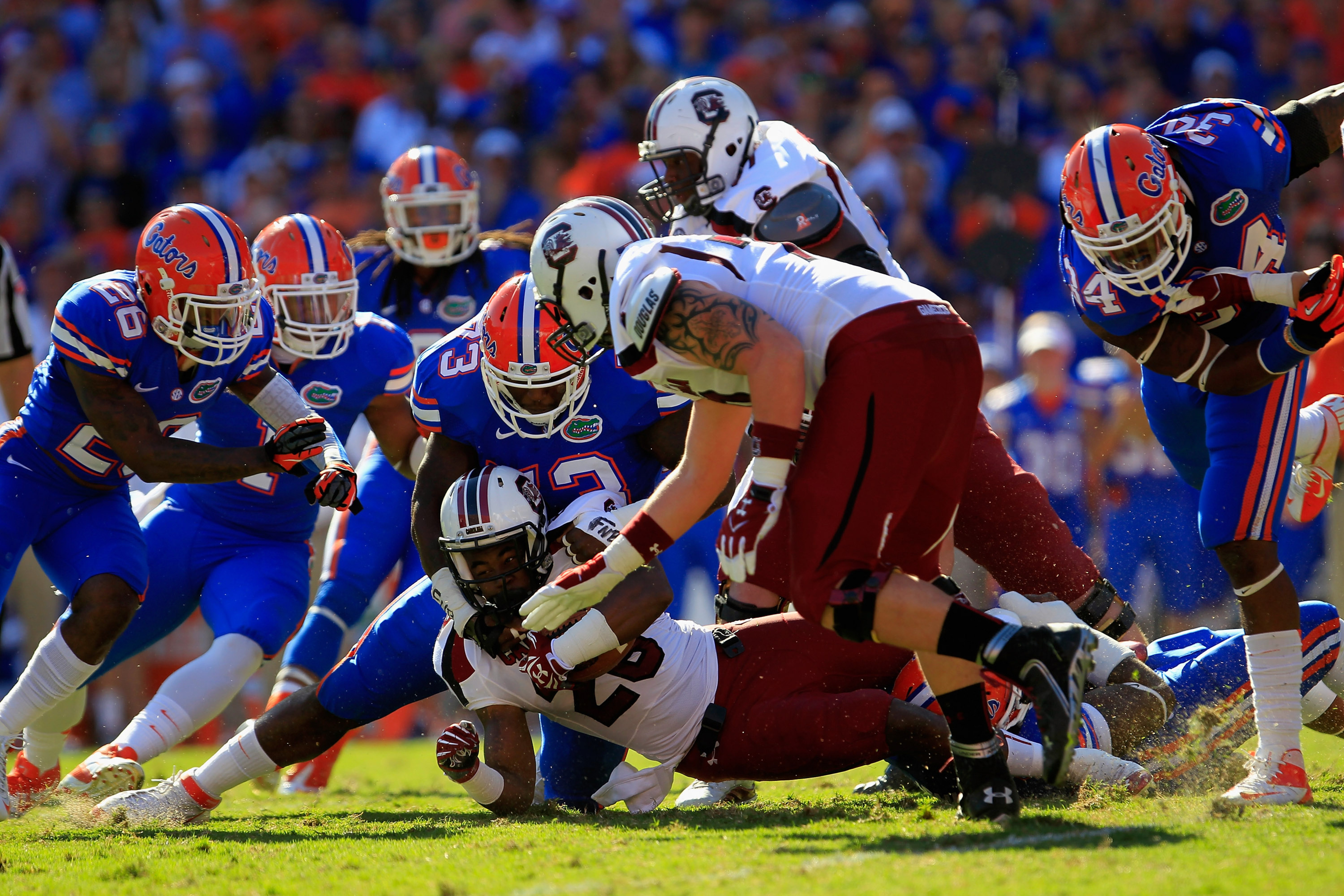 The Gators are peaking as they head into Jacksonville. Well, isn't that just dandy?