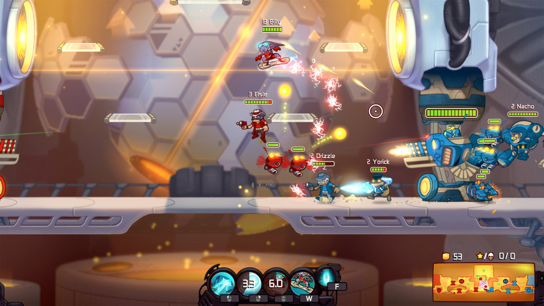 Awesomenauts is free to play until Sept. 15, DLC discounts abound