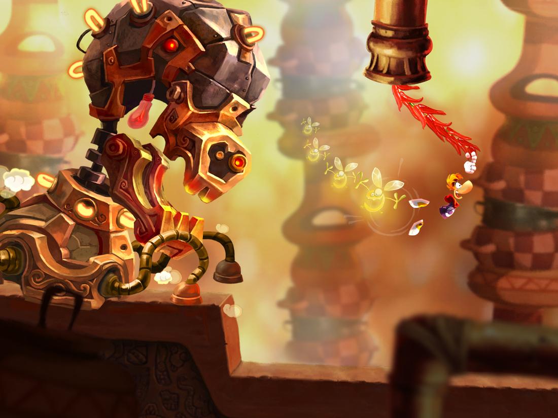 Rayman Fiesta Run is a festive follow-up to Jungle Run