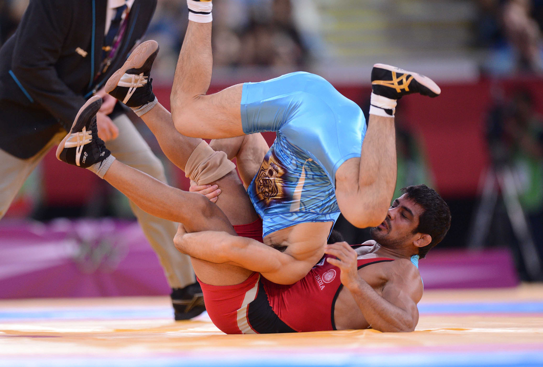 Wrestling at the 2012 Olympics