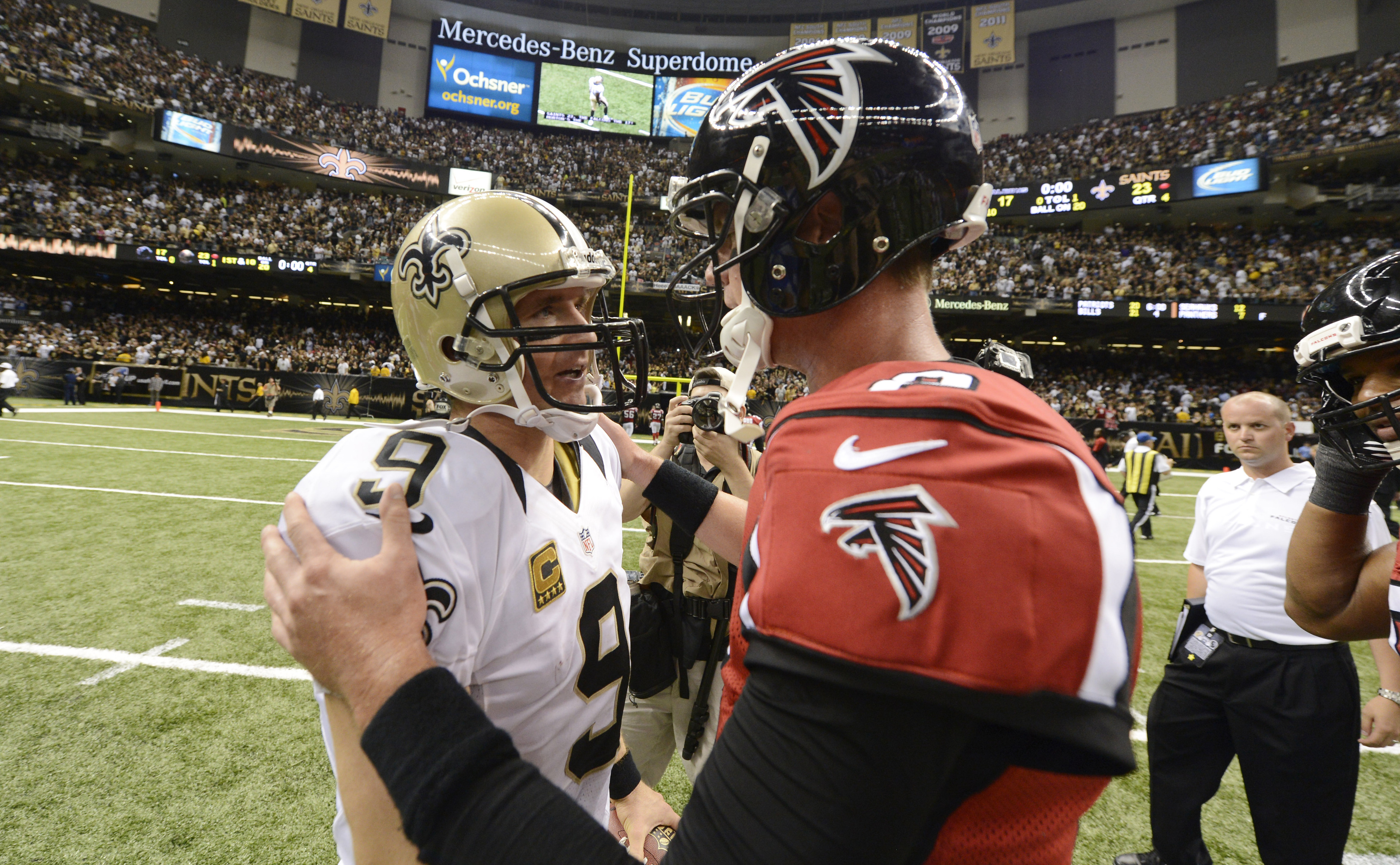 The Saints and Falcons were big movers in this week's APC power rankings.