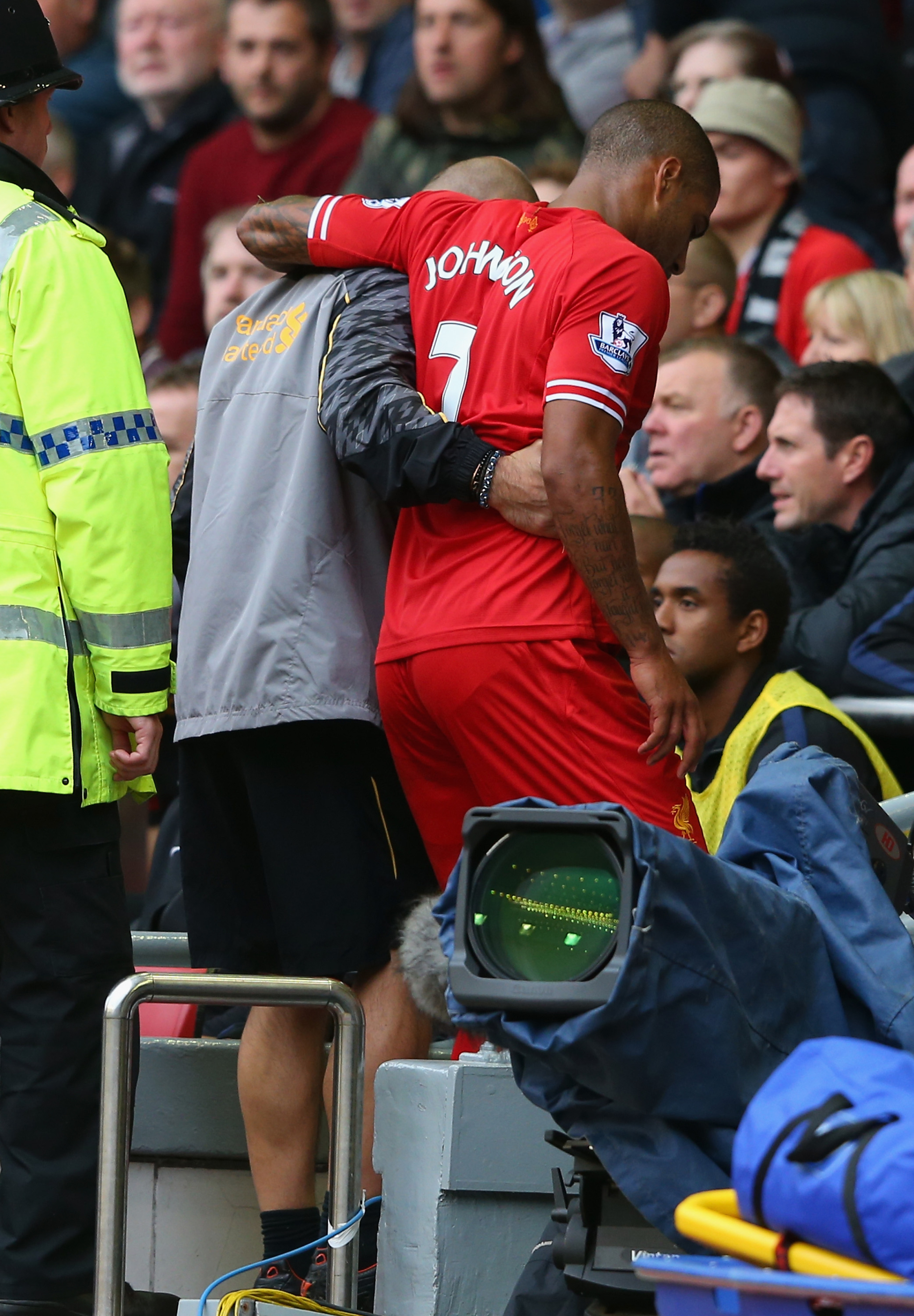 Glen Johnson could miss some serious time.