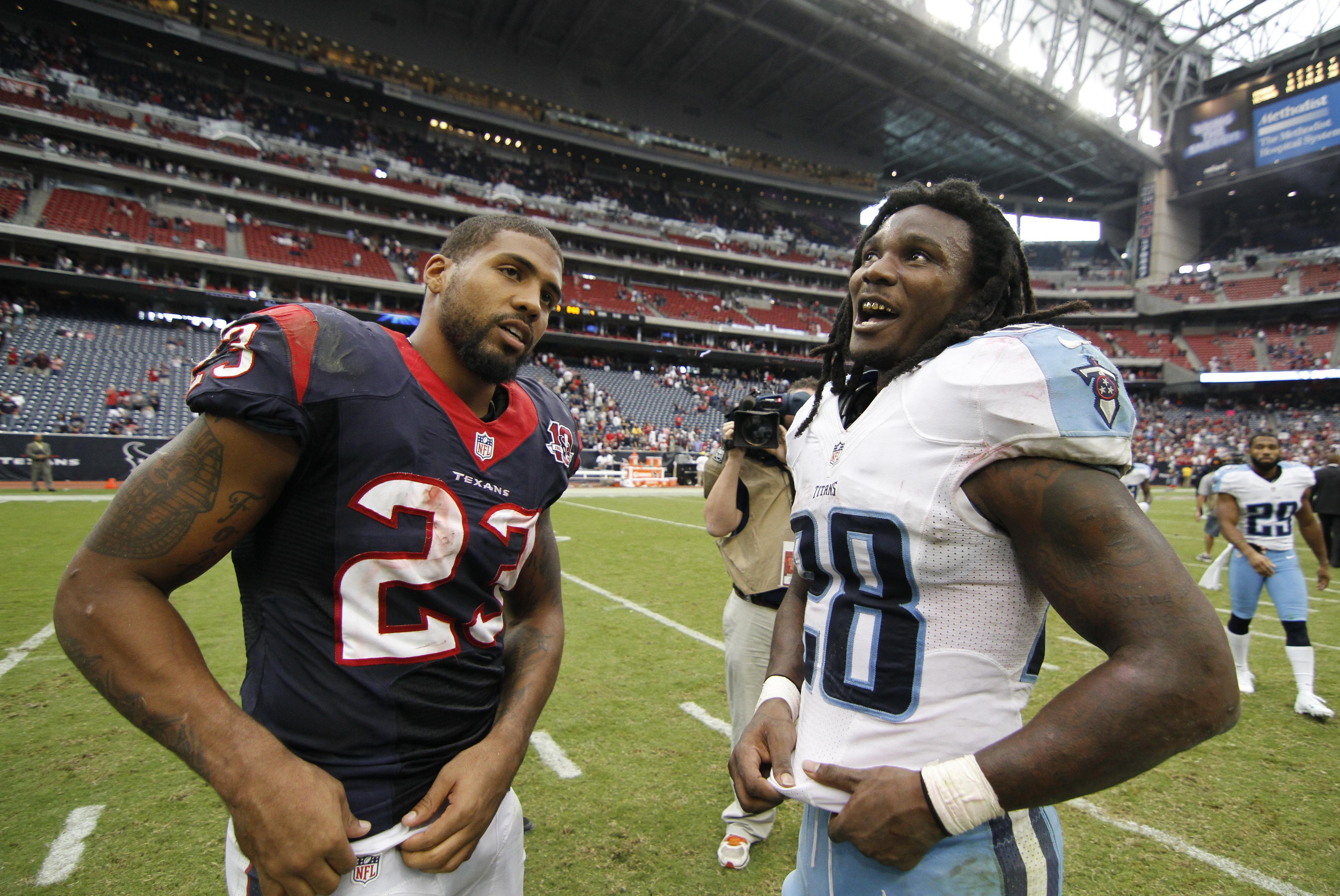 Only one of these RBs will be smiling come Sunday.