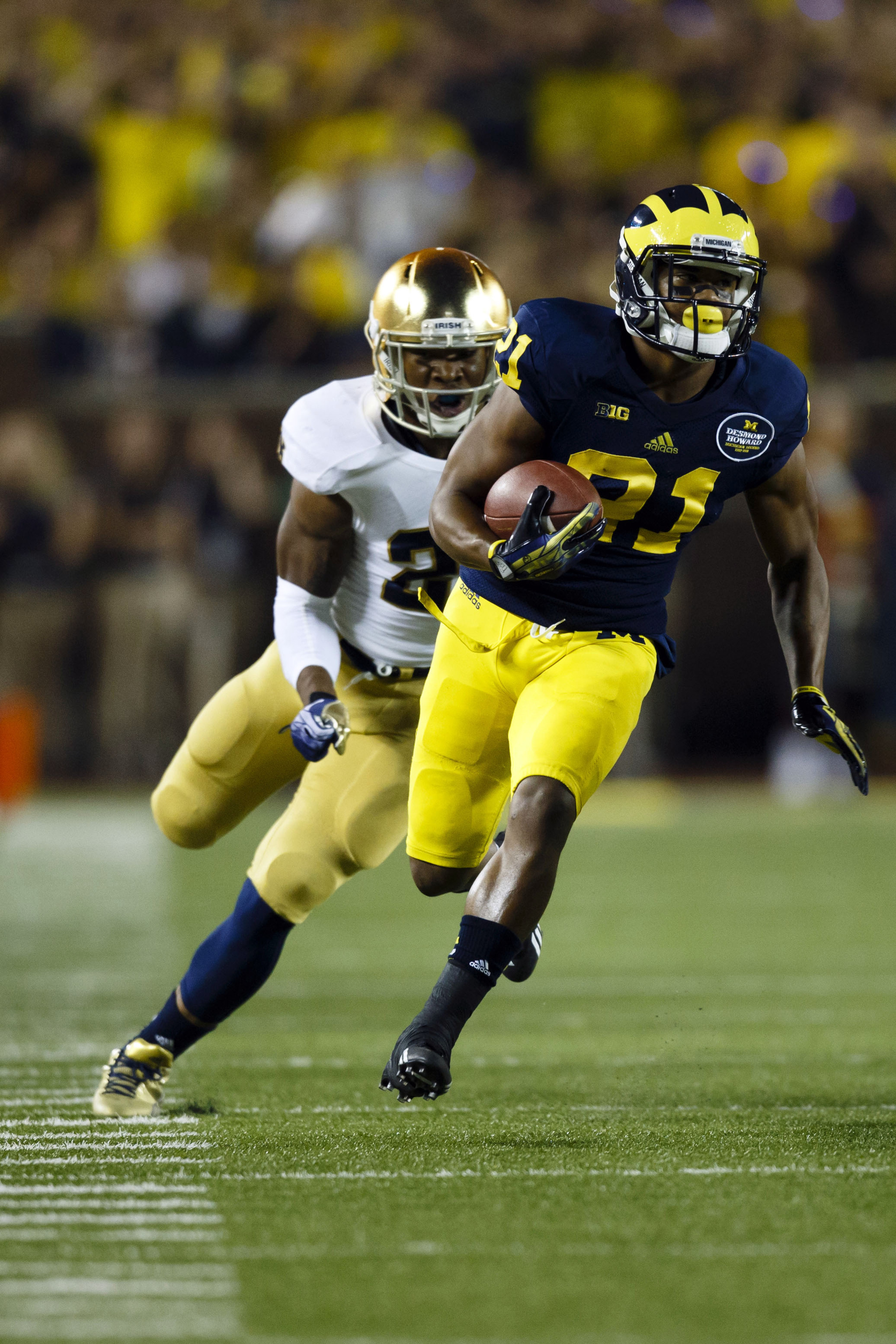 Michigan needs another receiver to go with star Jeremy Gallon