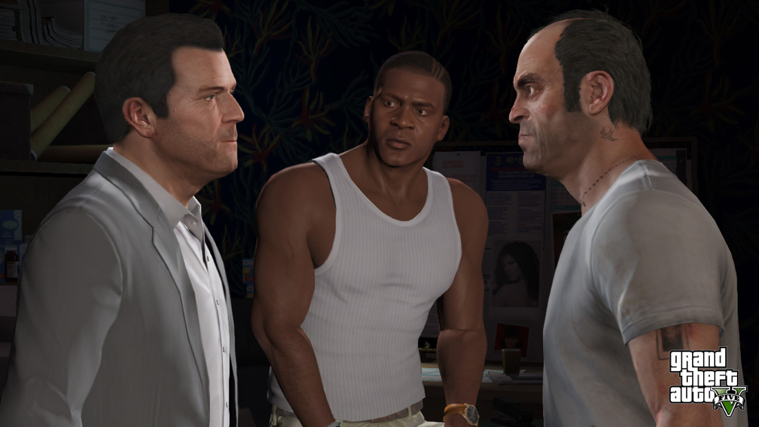 Dan Houser on Grand Theft Auto 5, metaphysics and the power of three
