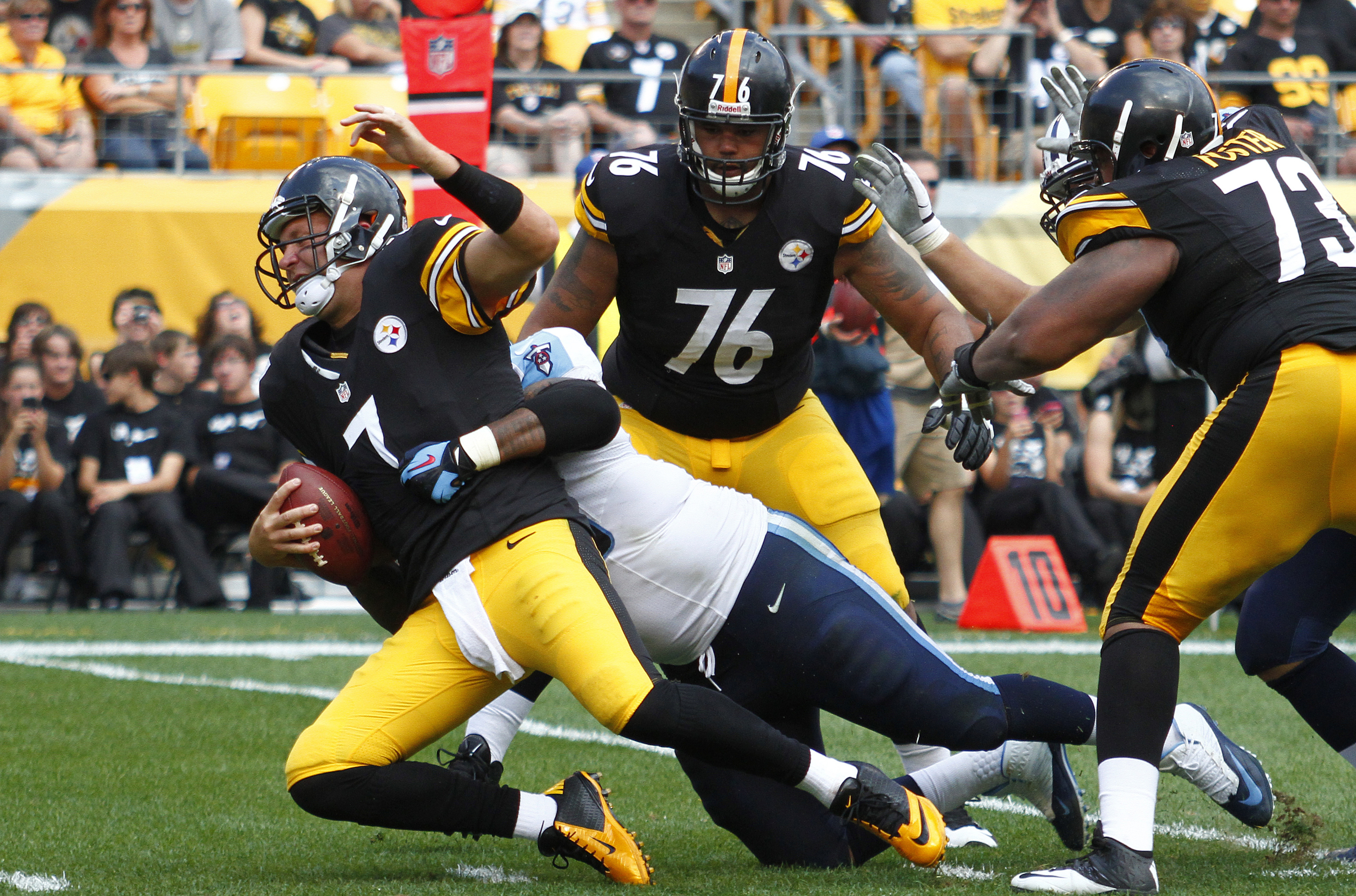 Can Casey do this on Sunday against the Texans' offensive line?
