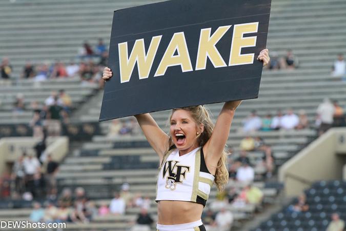 Wake Forest Cheerleader