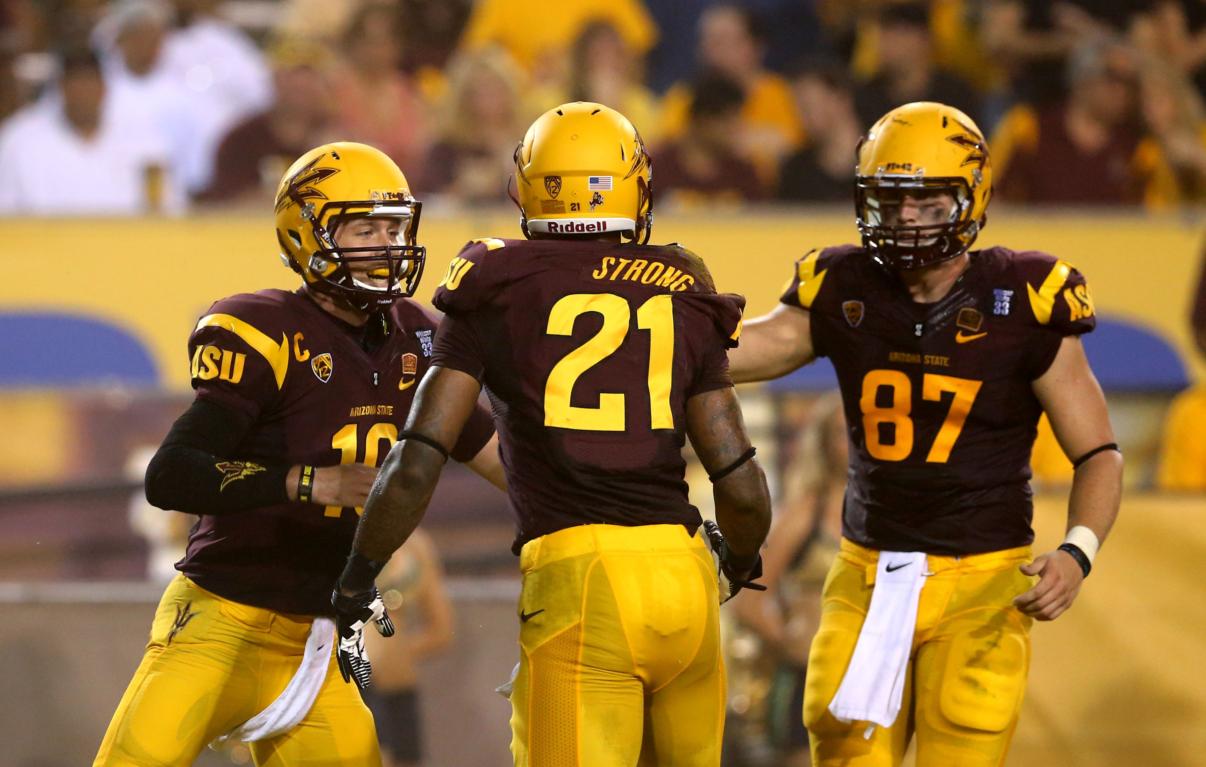Our staff thinks the Sun Devil offense will have its way against Wisconsin.