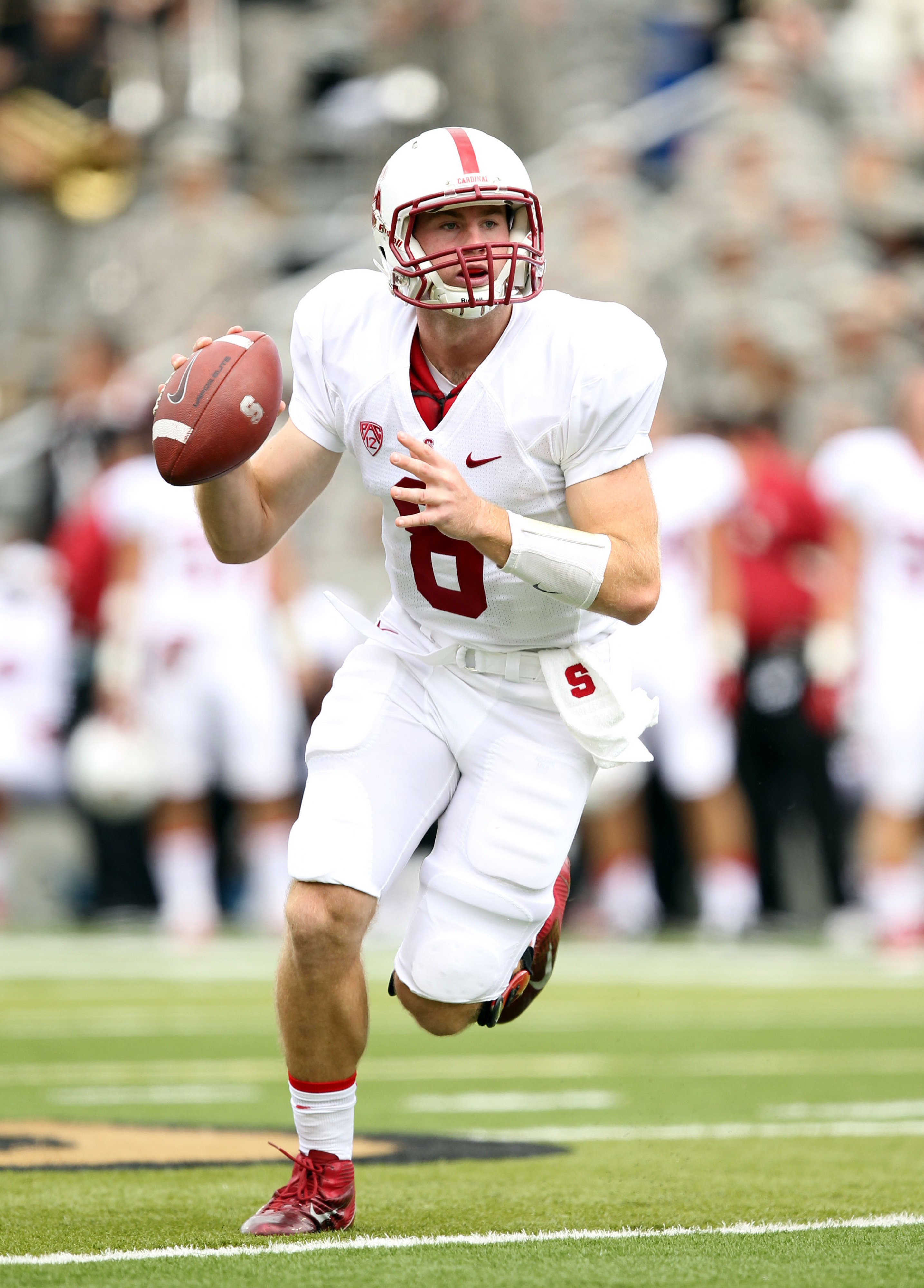Kevin Hogan leads the fifth ranked Cardinal.