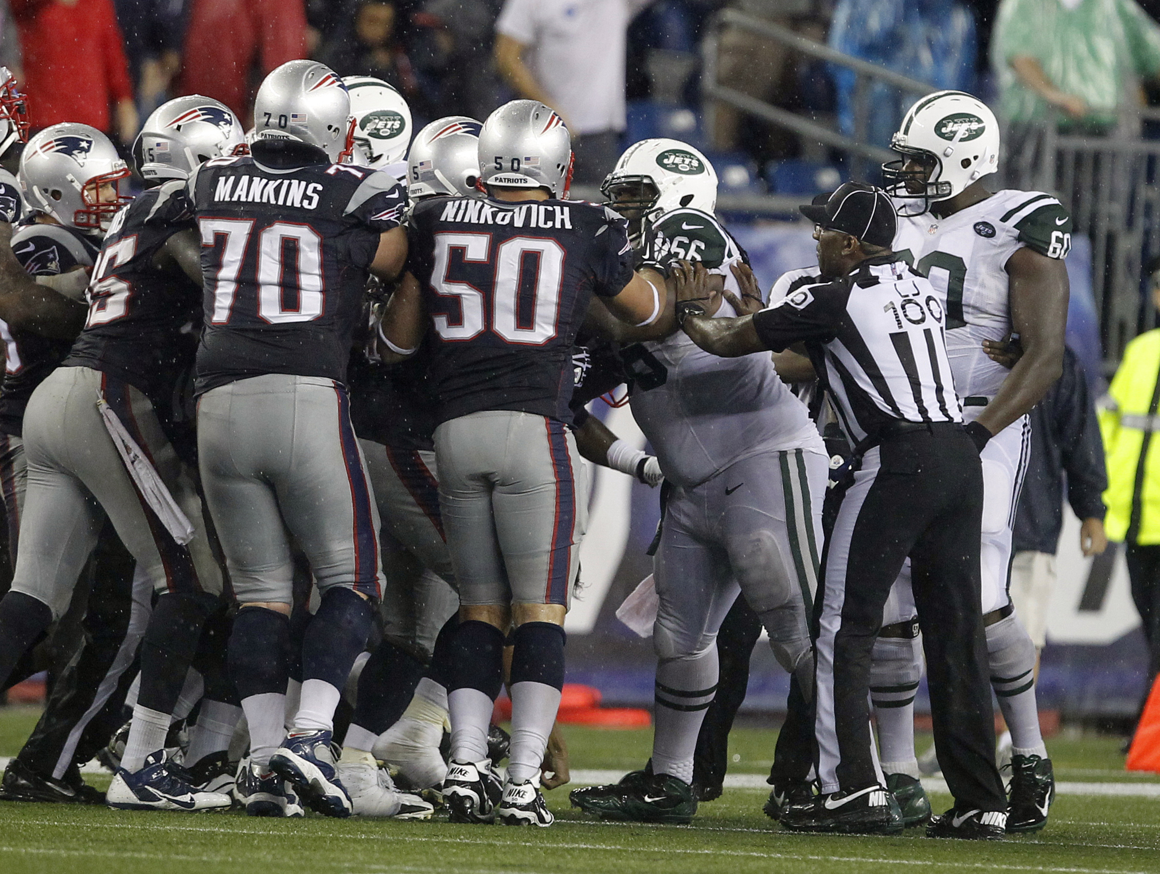 Jets vs. Patriots fight: Fines expected, suspensions unlikely