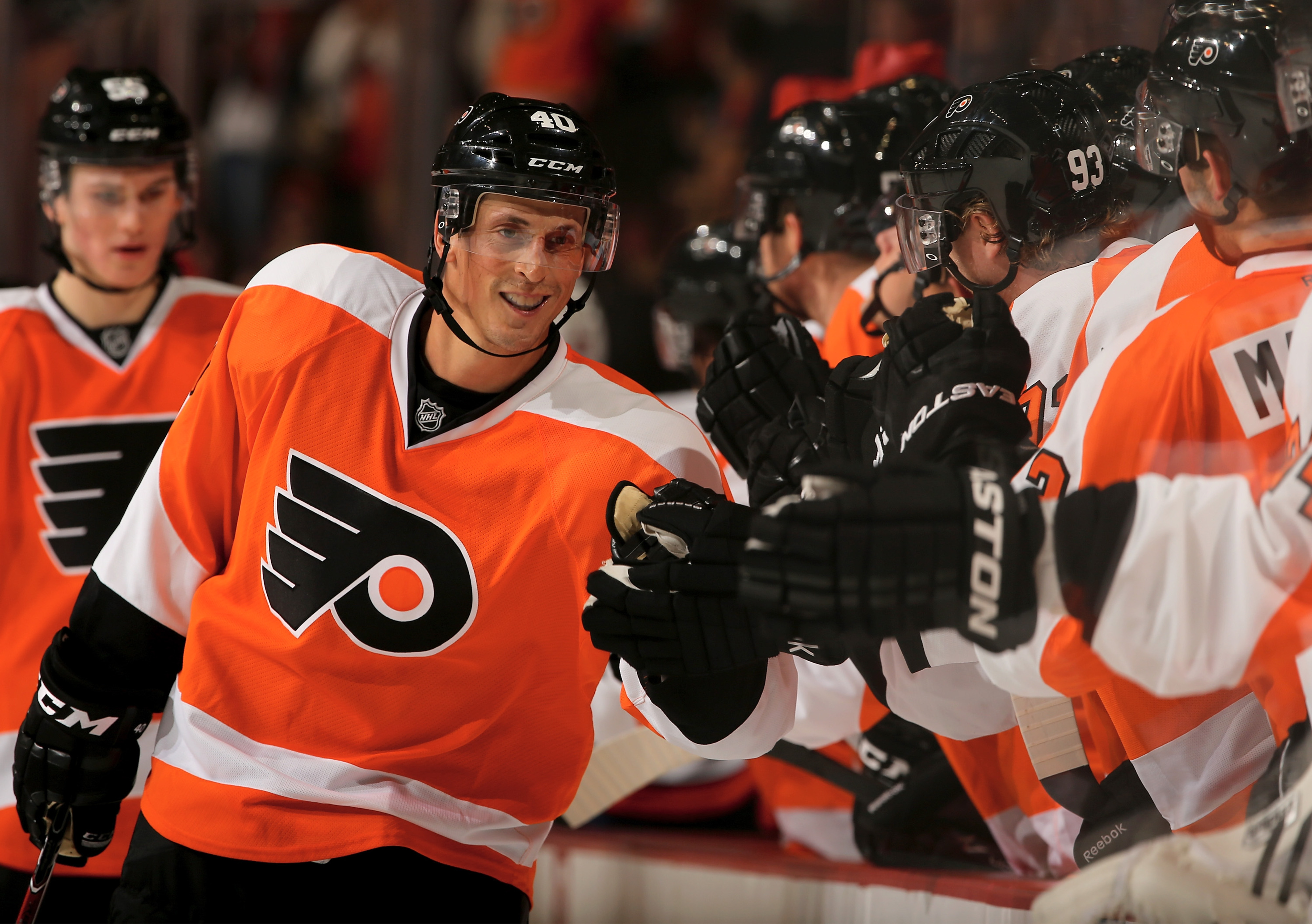 In a fantasy world, Vinny Lecavalier is a Flyer. Wait, no. This is real.