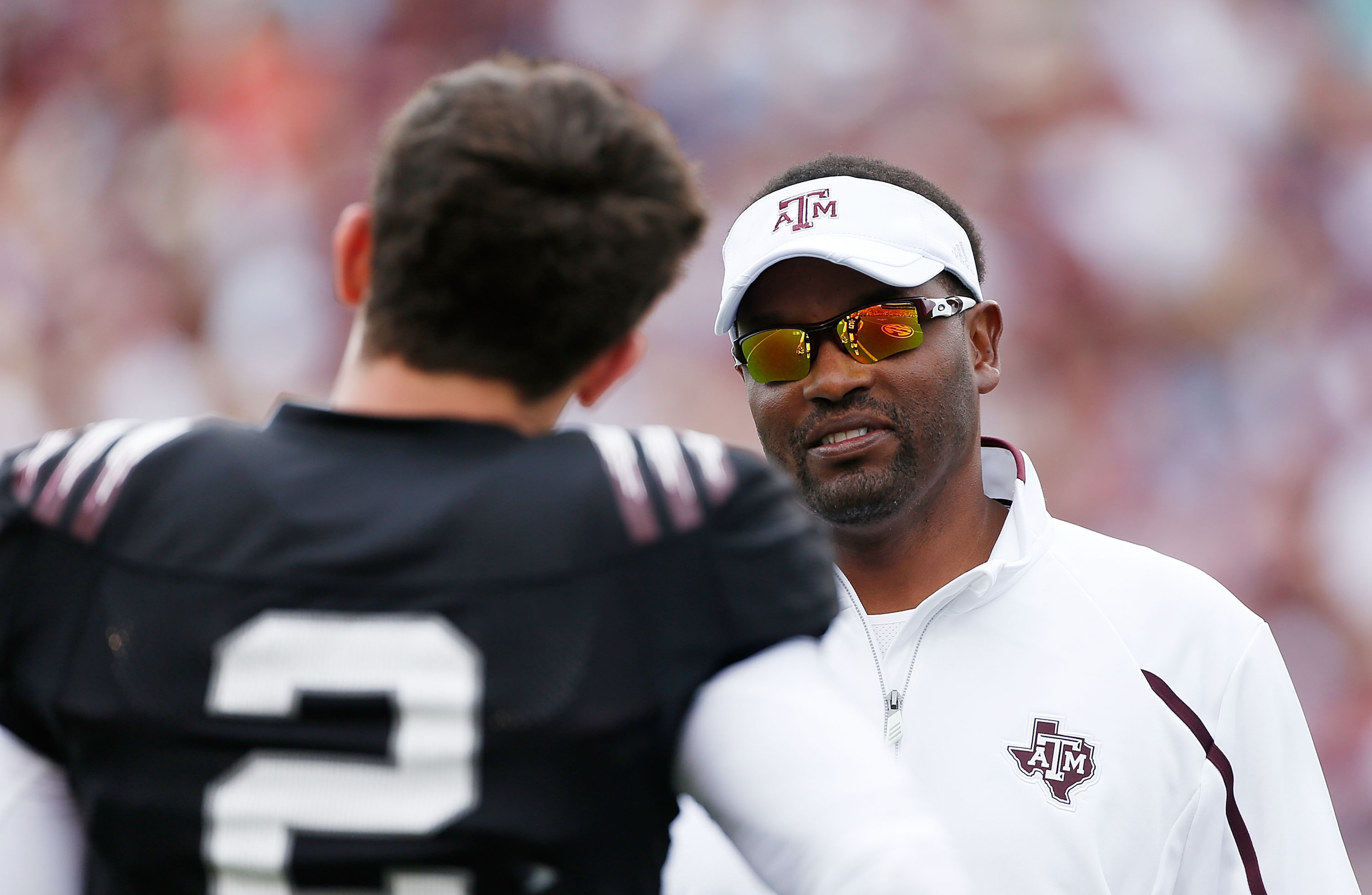 Johnny Manziel to Kevin Sumlin on insane throw: 'Would've been a punt'
