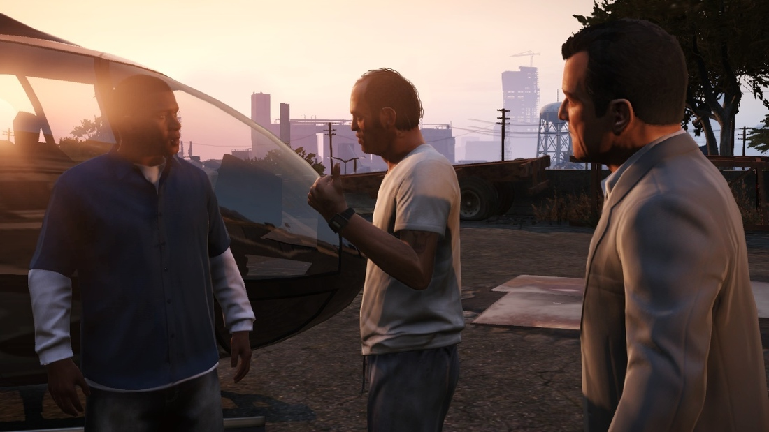 Three men impersonate cops to cut GTA 5 waiting line