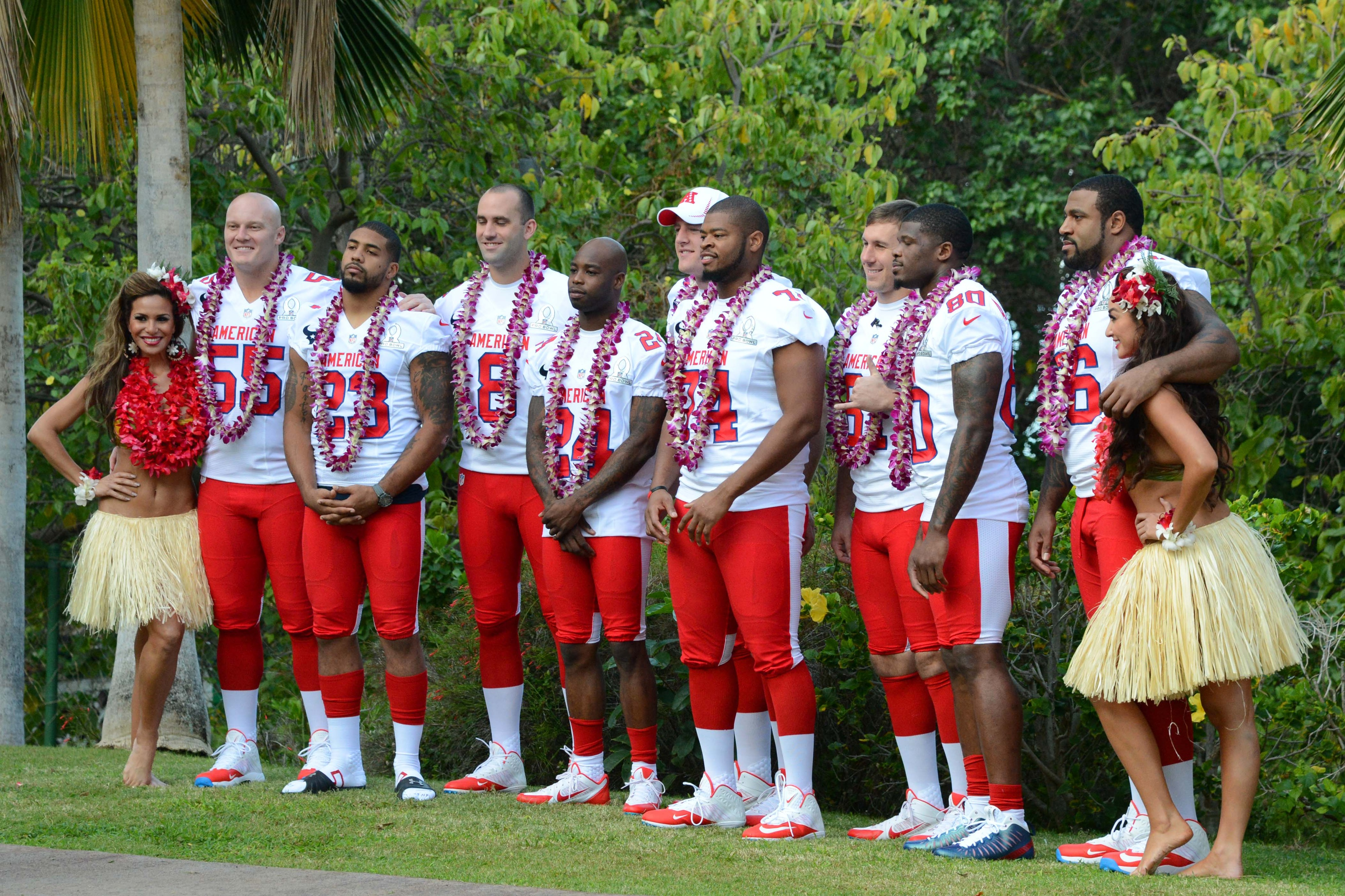 Wade Smith and a bunch of Texans Pro Bowlers.