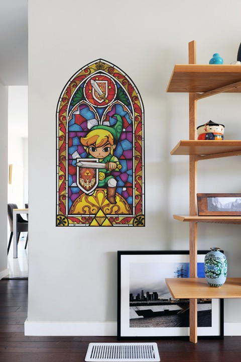 Wall decals open a window to The Legend of Zelda: The Wind Waker HD