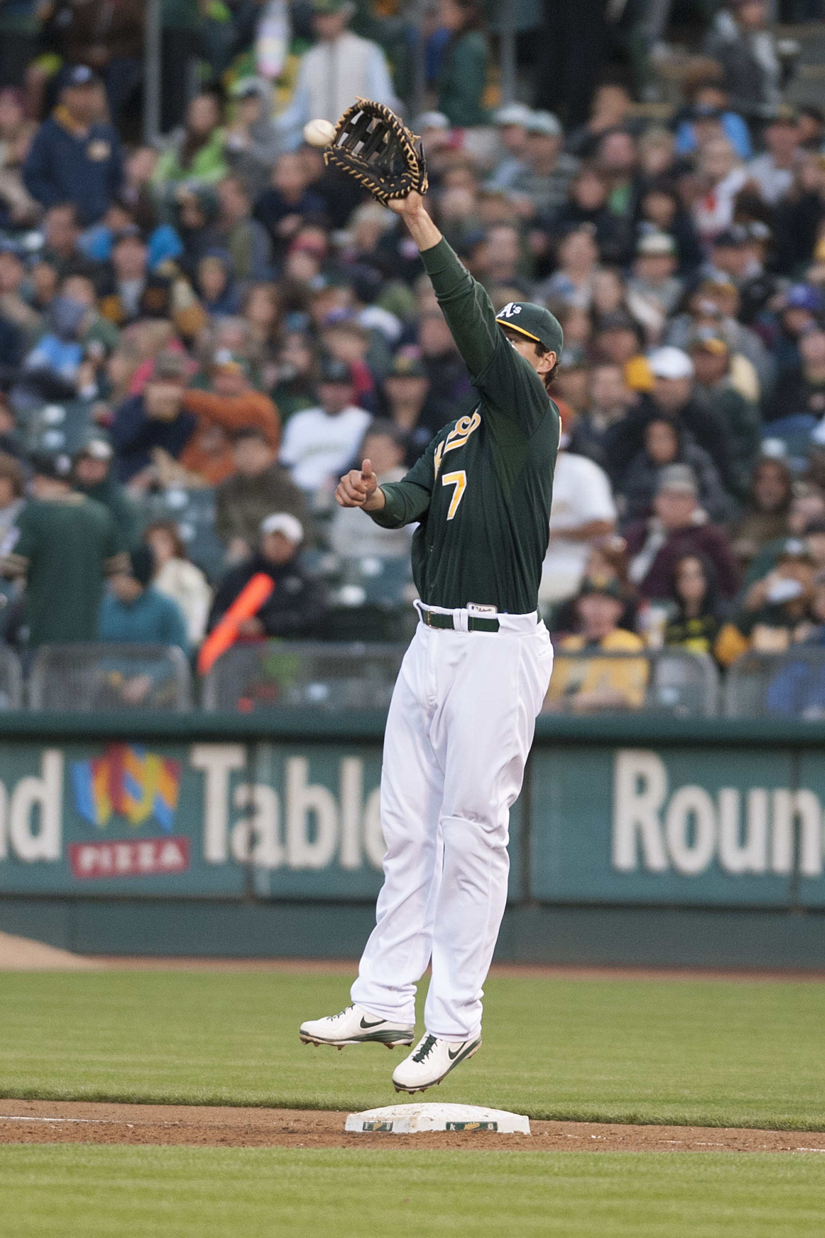 Making the playoff roster might be a stretch for Nate Freiman.
