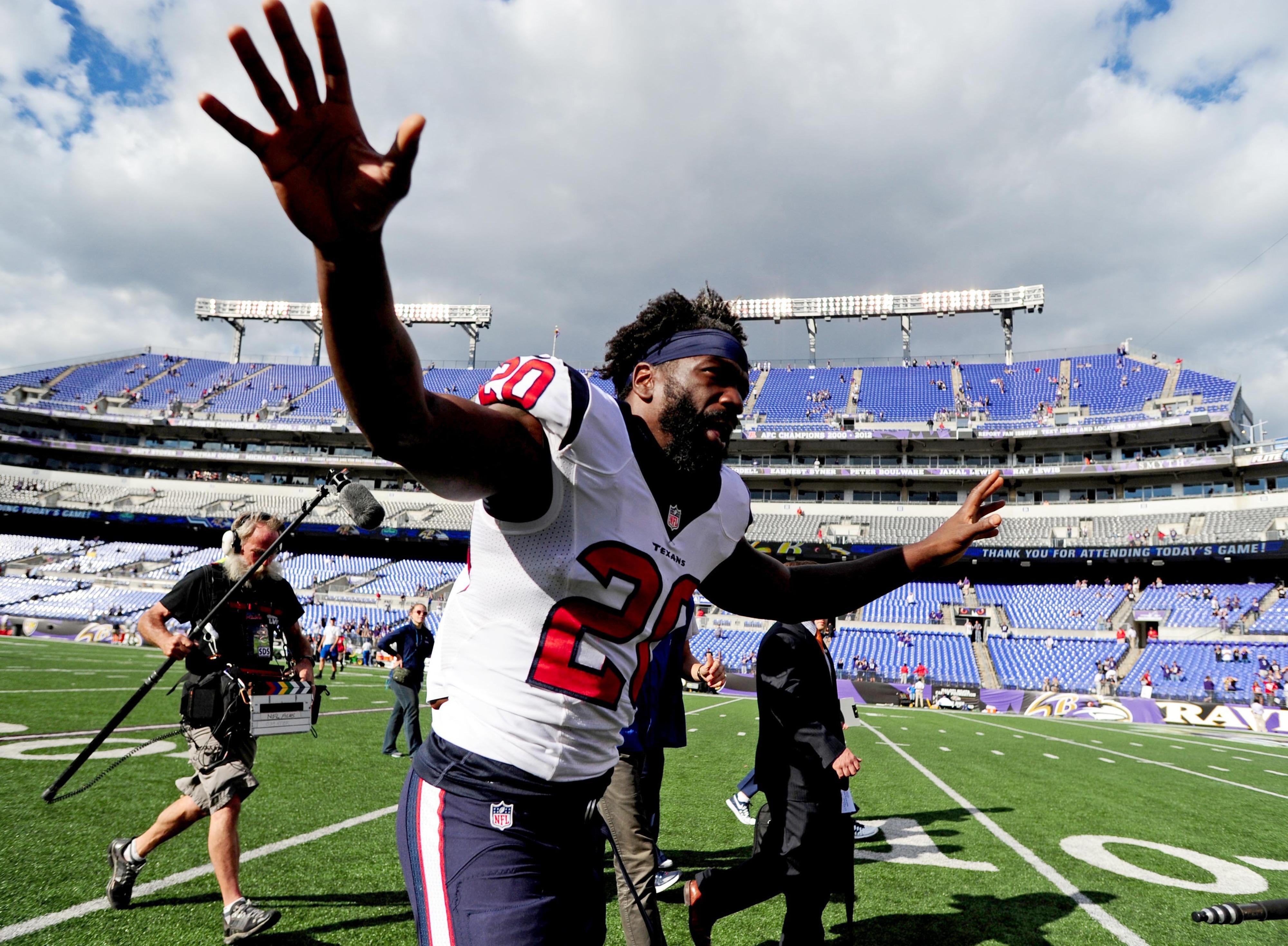 At least one Texan enjoyed himself on Sunday.