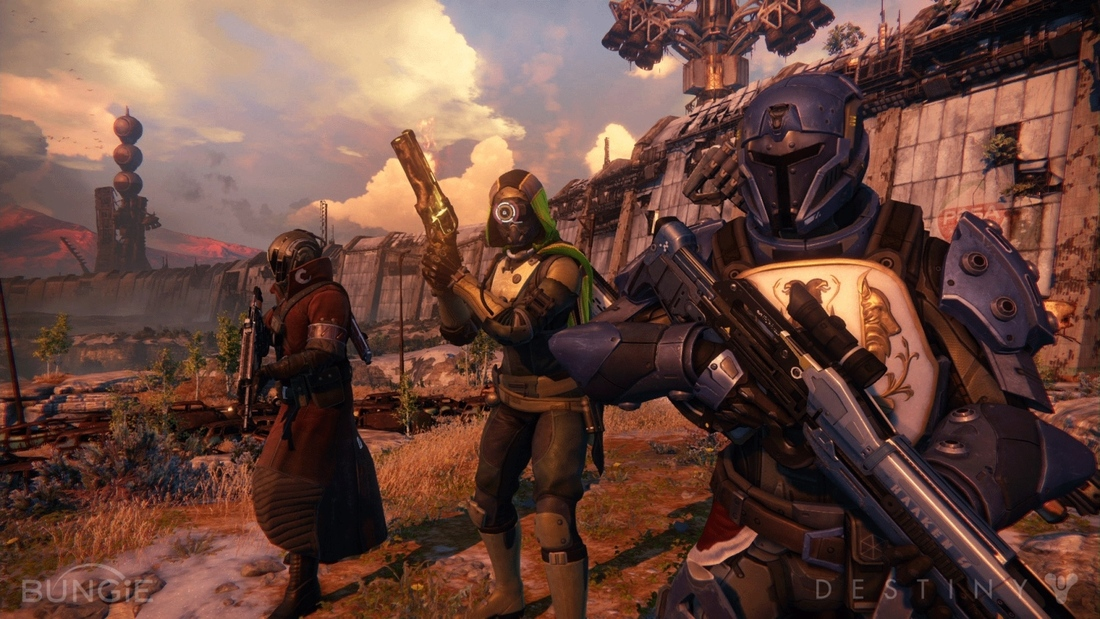 The 'implied fiction' and gun bazaars behind Destiny's weapons