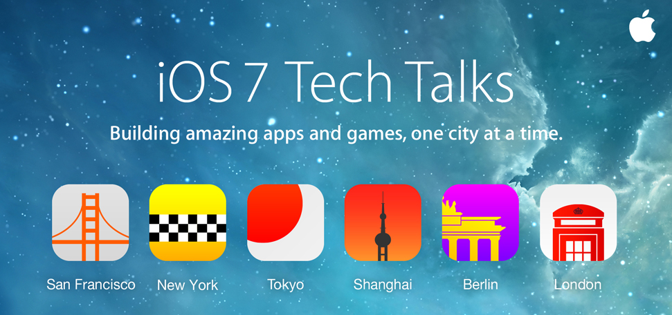 iOS 7 Tech Talks offer guidance on app, game creation