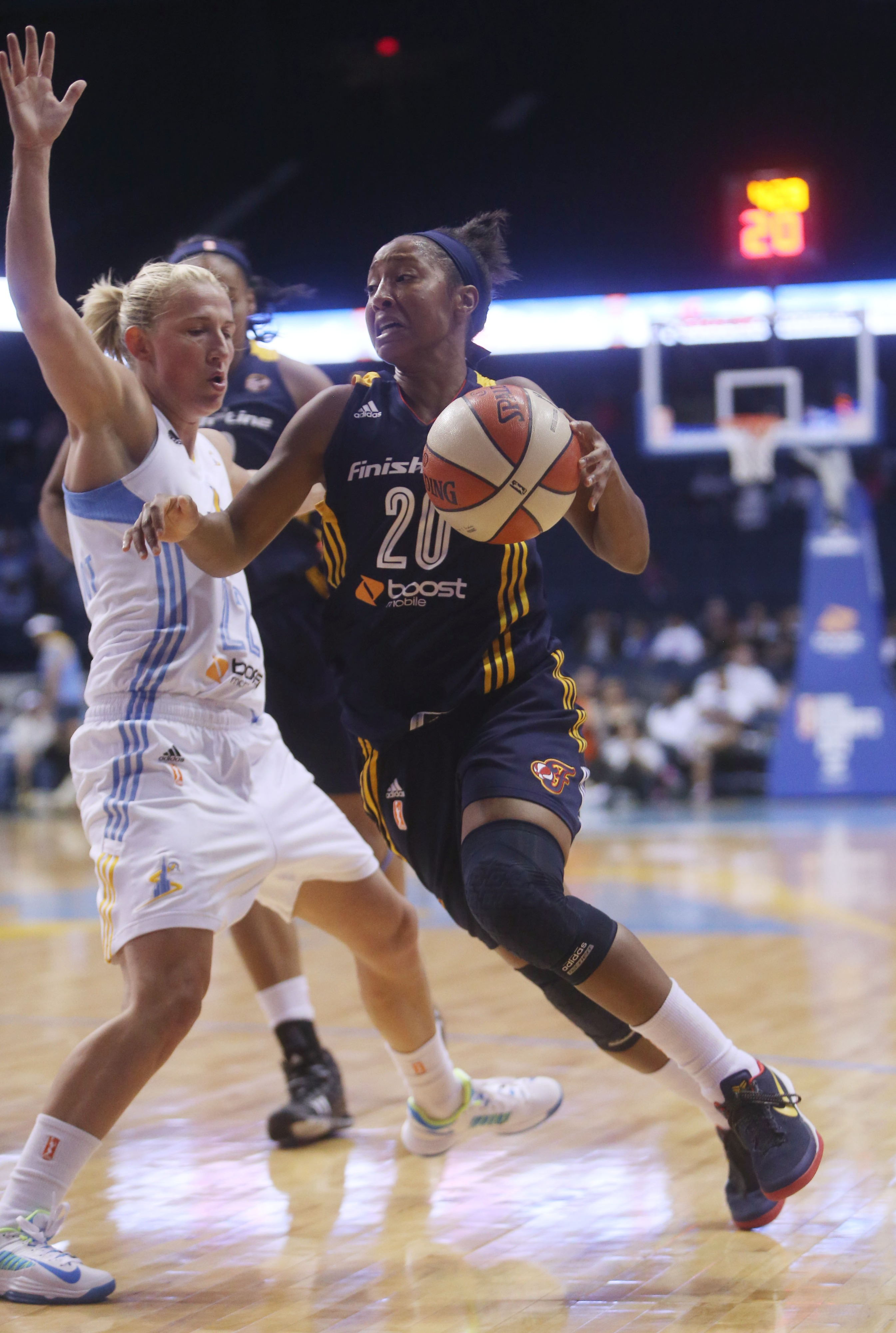 Indiana Fever point guard Briann January could be a key figure in the Eastern Conference Finals.