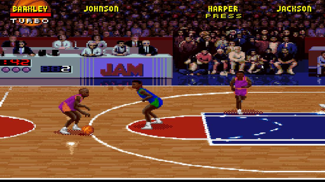 NBA Jam lead designer tweaked code against Chicago Bulls