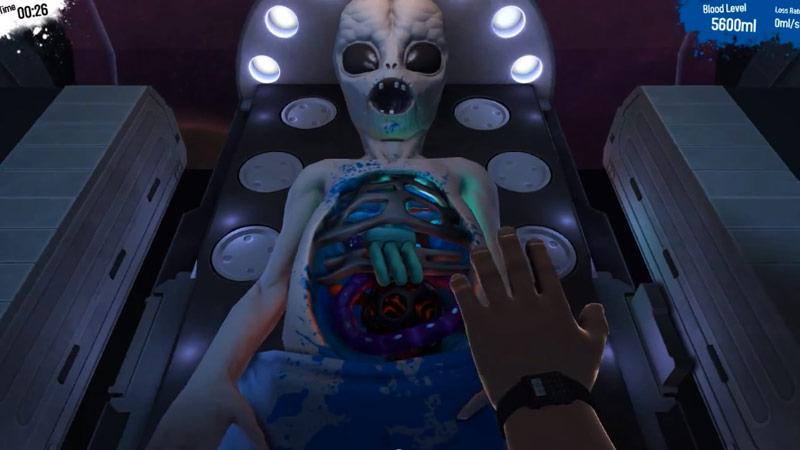 Surgeon Simulator 2013's hidden space surgery secret exposed