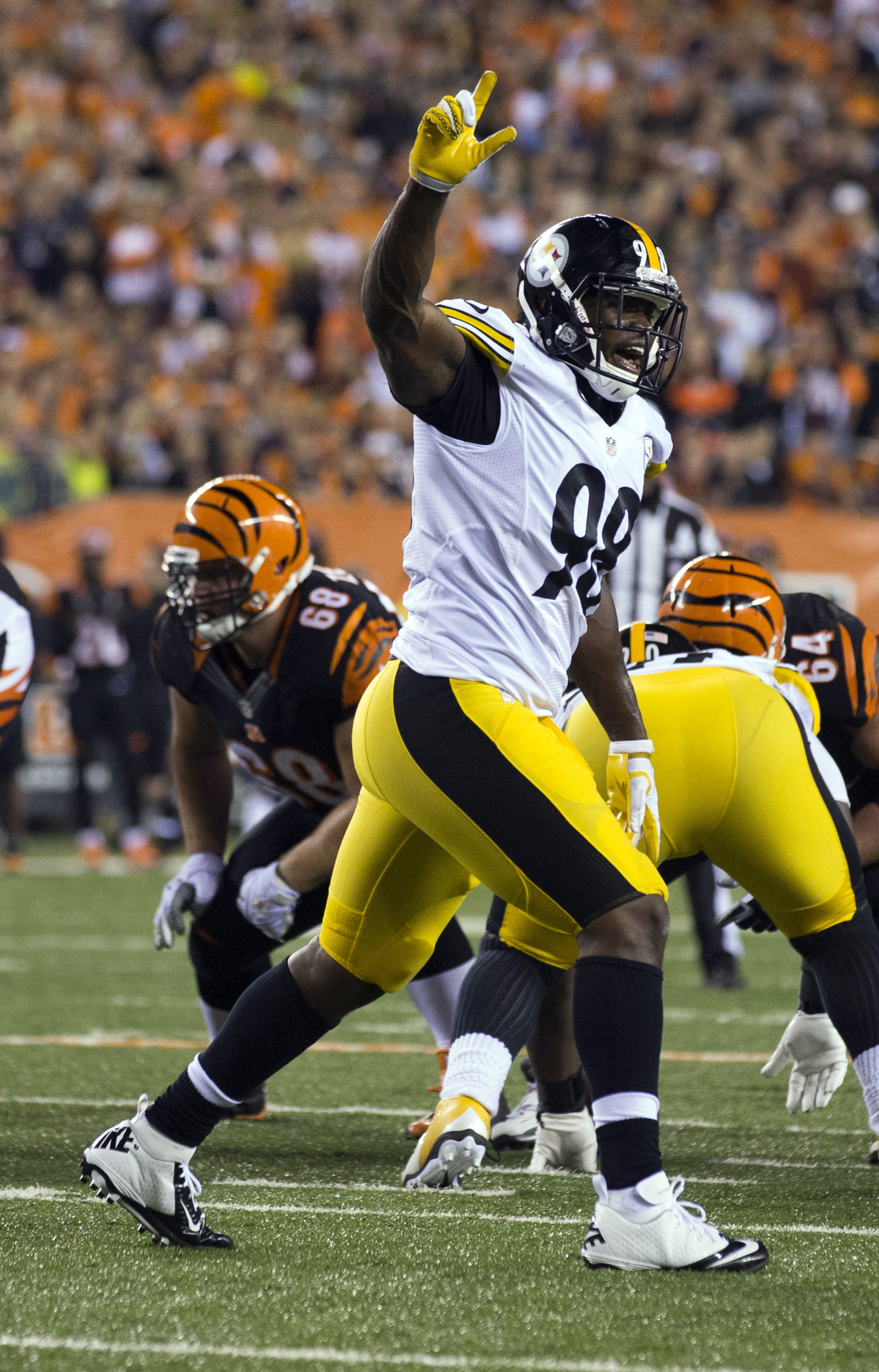 Williams' best asset has been his ability to quickly learn the Steelers' defense and call plays.