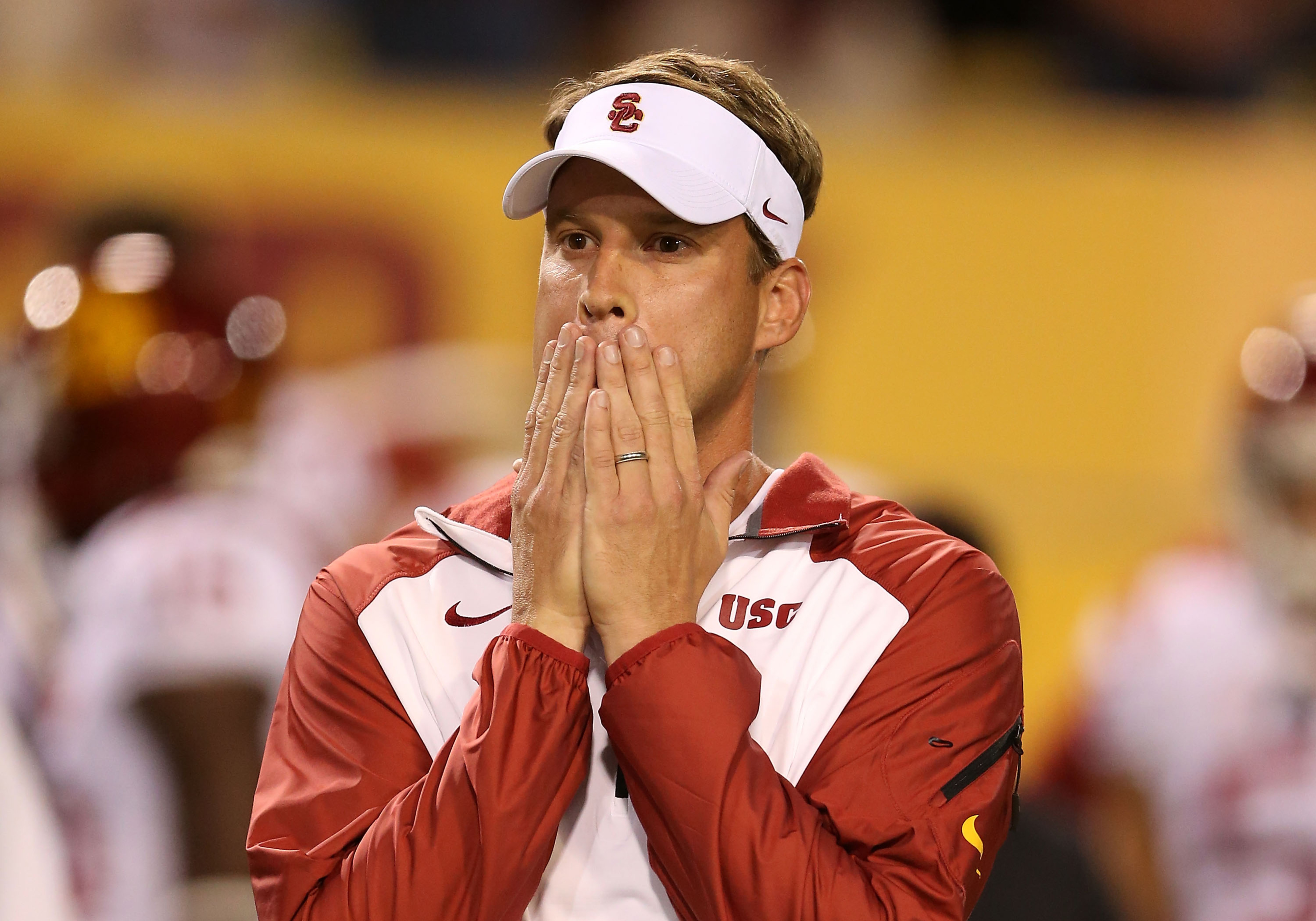 Lane Kiffin fired by USC after 62-41 loss to Arizona State