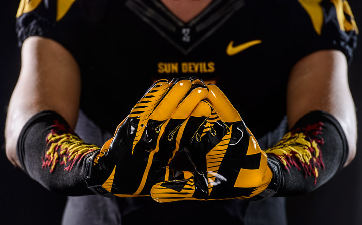 The Sun Devils' new gloves are the latest piece of the uniform reveal.