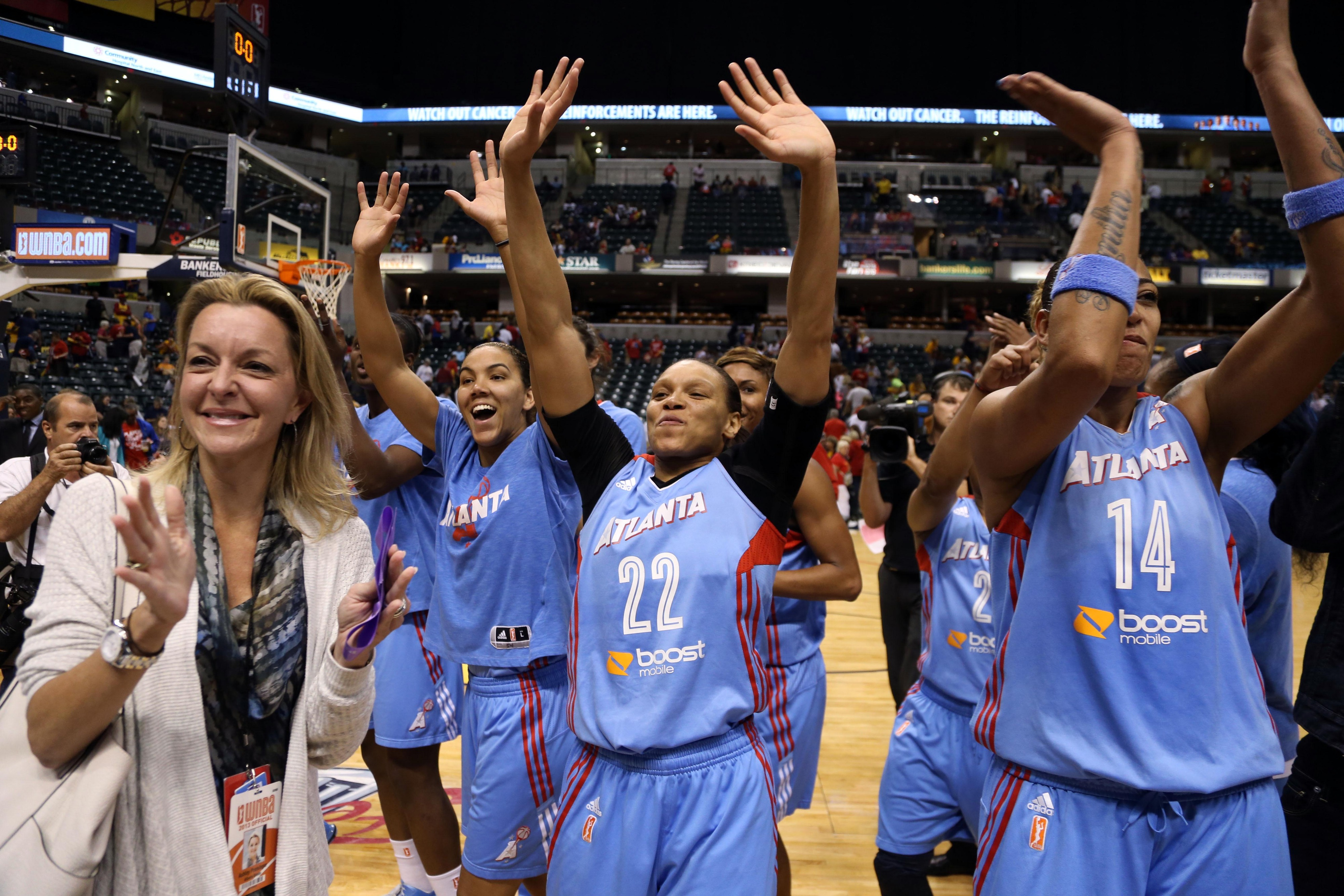 Armintie Herrington's rebounding an defense were a major part of why the Atlanta Dream are returning to the WNBA Finals.